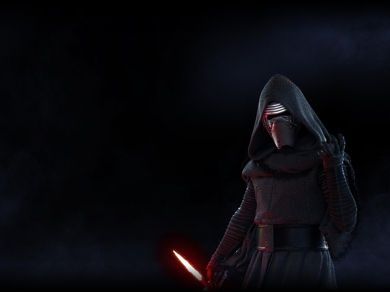 Kylo Ren from Star Wars Battlefront 2 wallpaper 1280x960