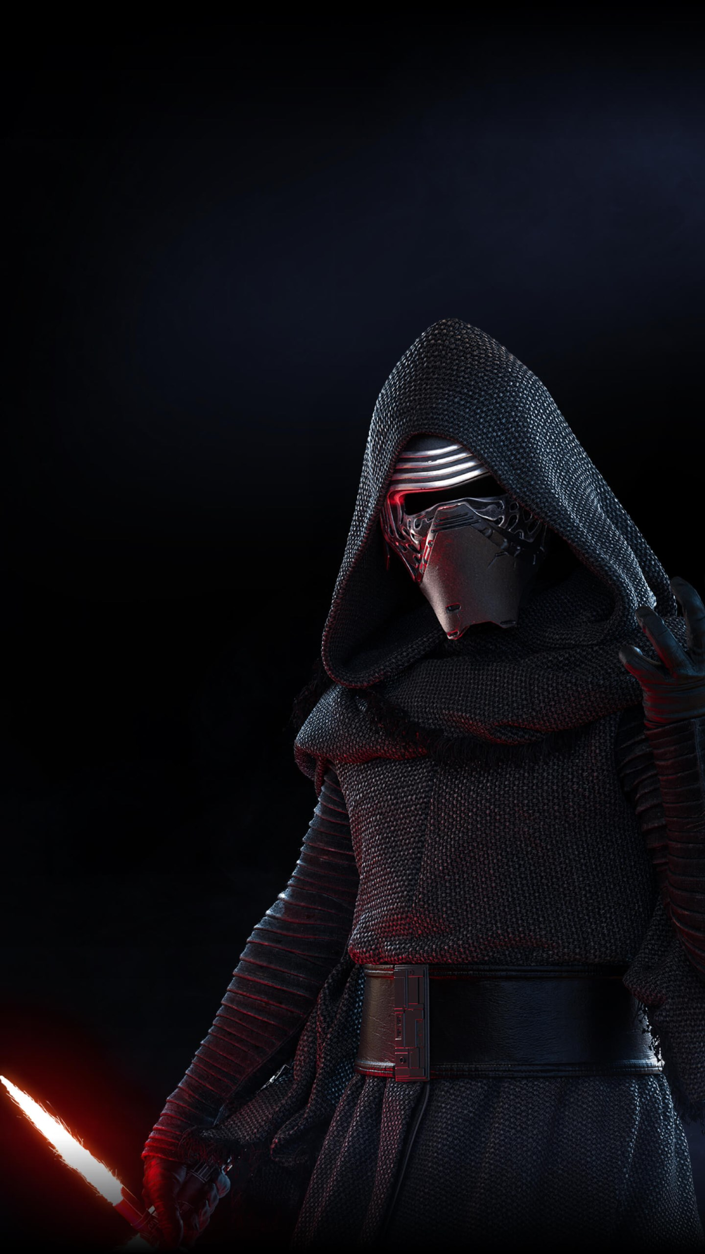 Download Wallpaper Kylo Ren From Star Wars Battlefront 2 1440x2560