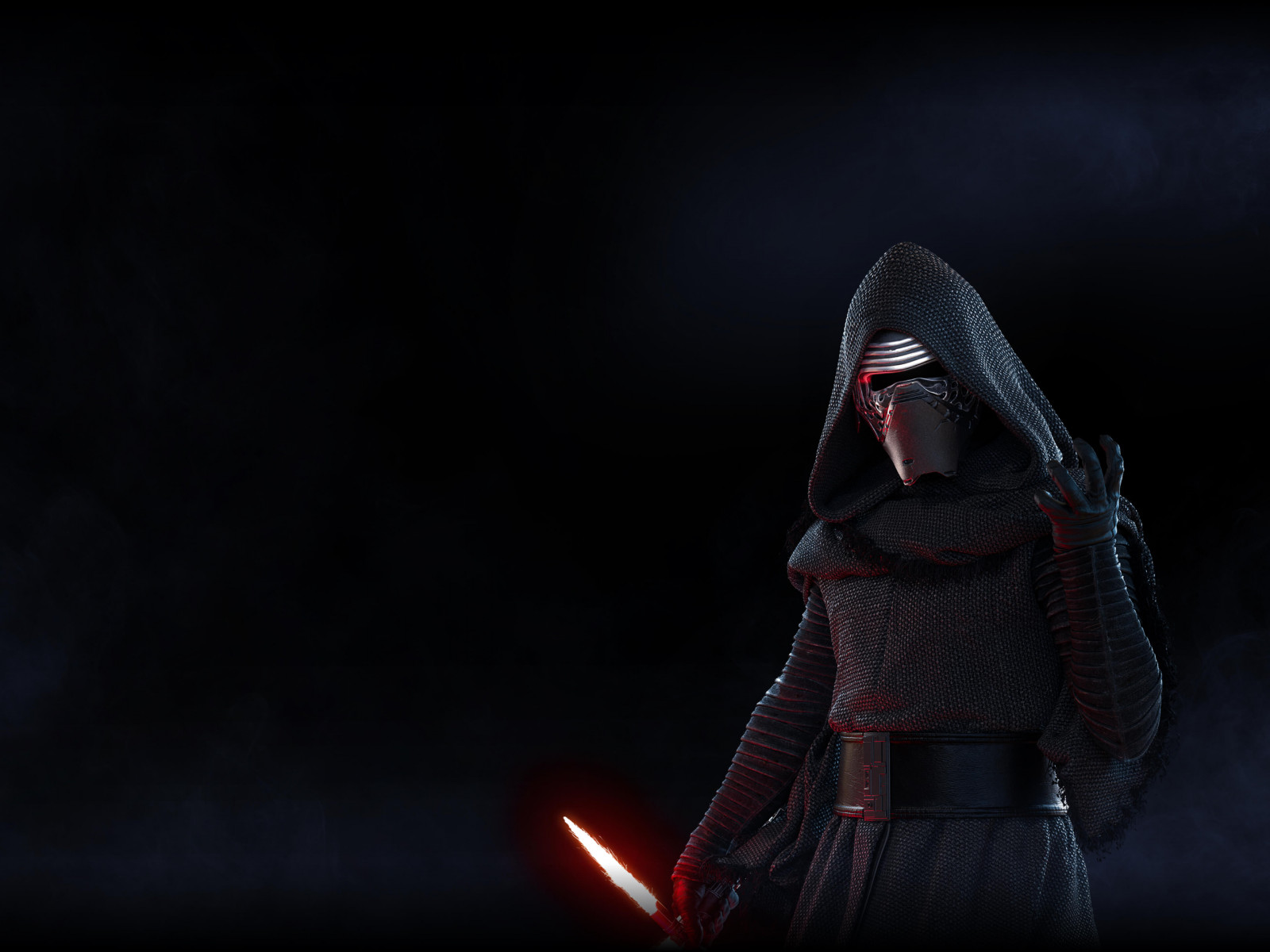 Kylo Ren from Star Wars Battlefront 2 wallpaper 1600x1200