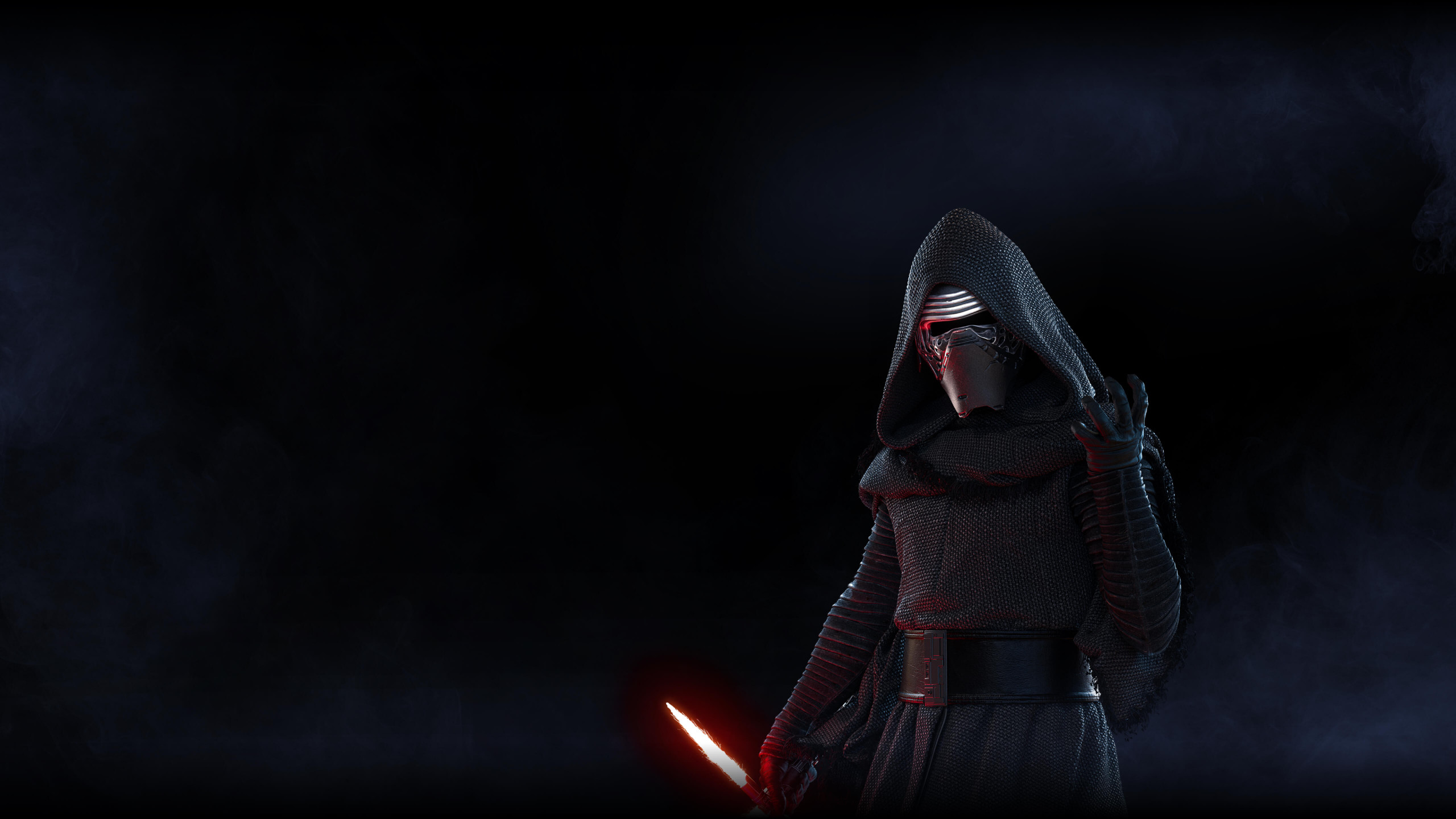 Download Wallpaper Kylo Ren From Star Wars Battlefront 2 2560x1440