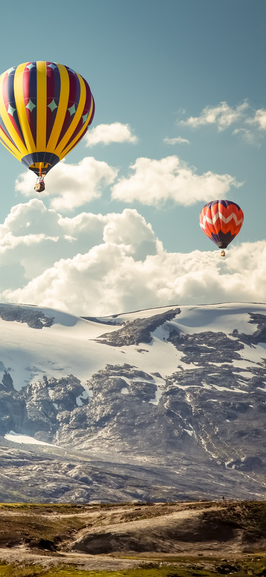 Hot air balloons wallpaper 1125x2436
