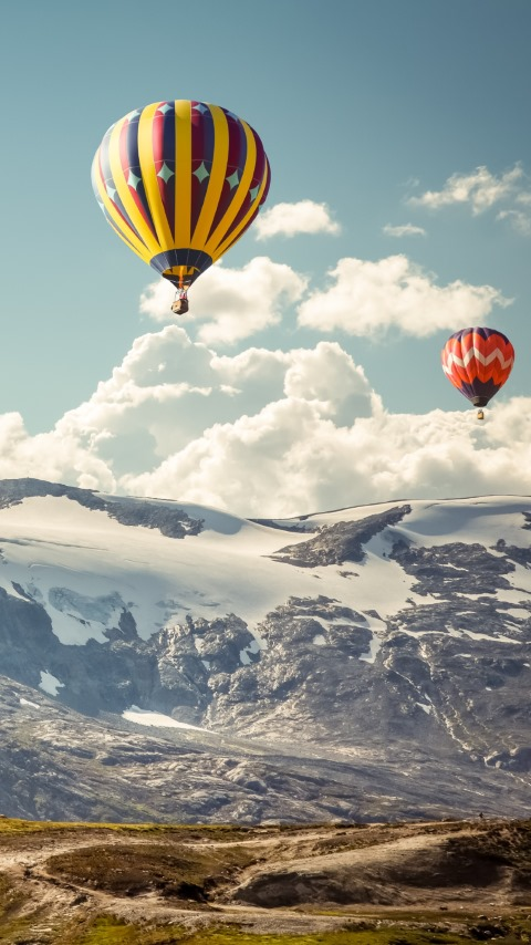 Hot air balloons | 480x854 wallpaper