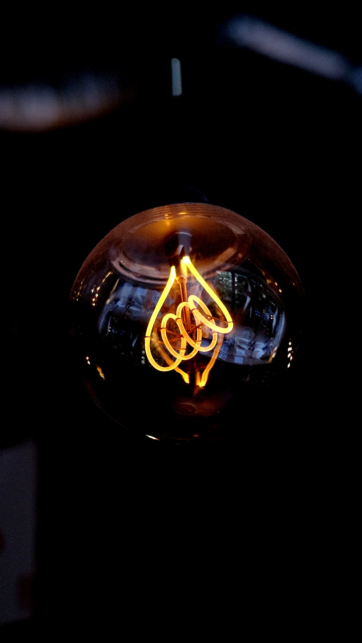 Incandescent light bulb | 1242x2208 wallpaper