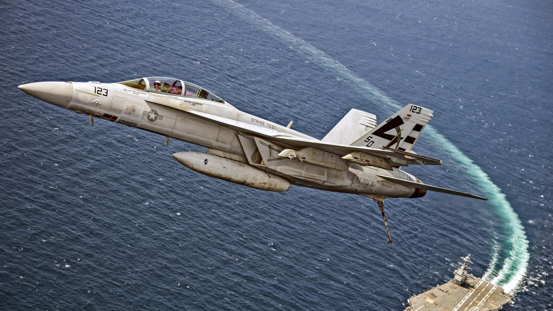 Download Wallpaper Boeing Fa 18f Super Hornet 2880x1620