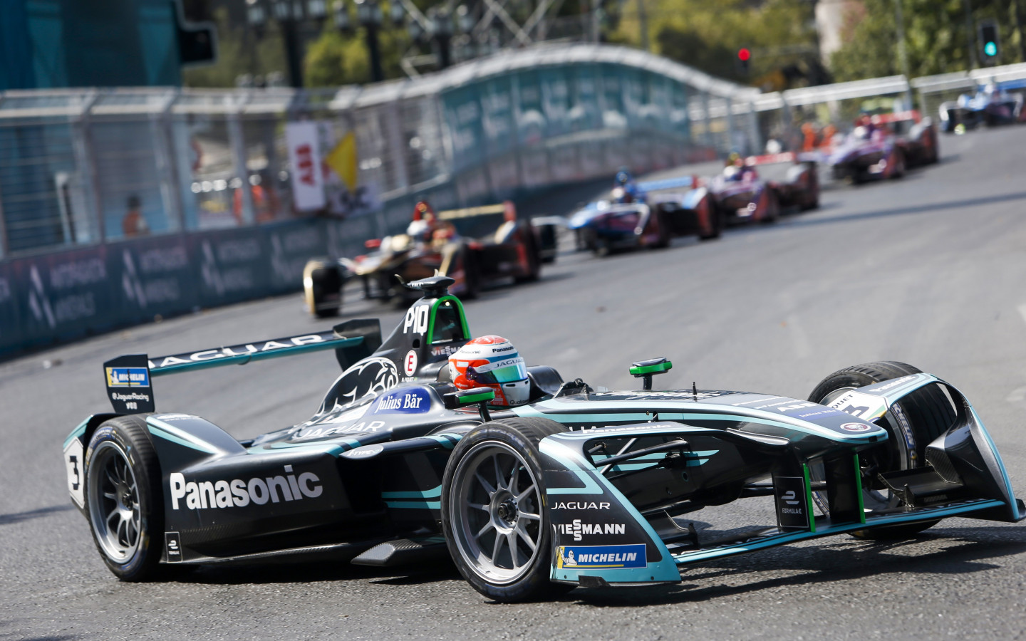Panasonic Jaguar Racing wallpaper 1440x900