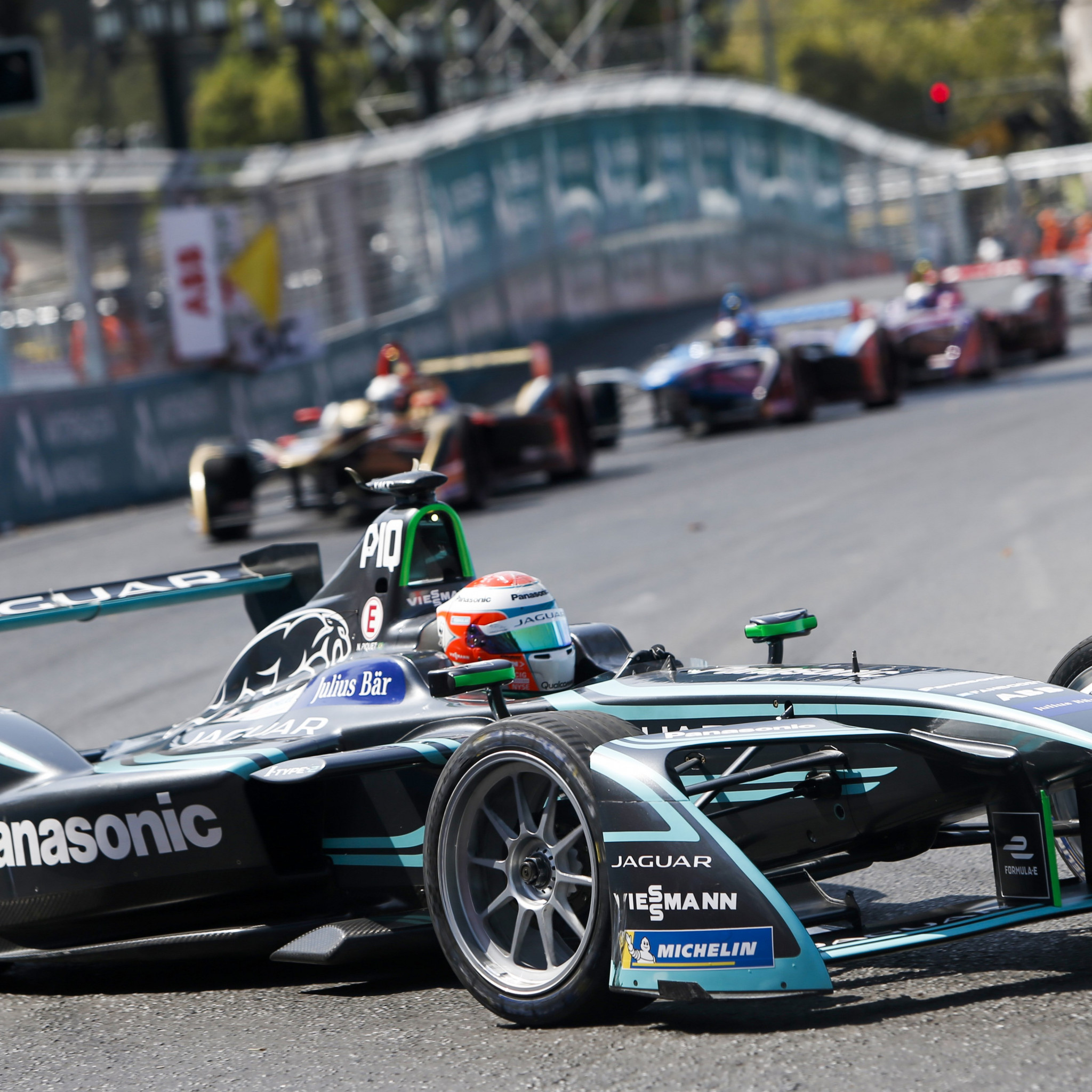 Panasonic Jaguar Racing | 2048x2048 wallpaper