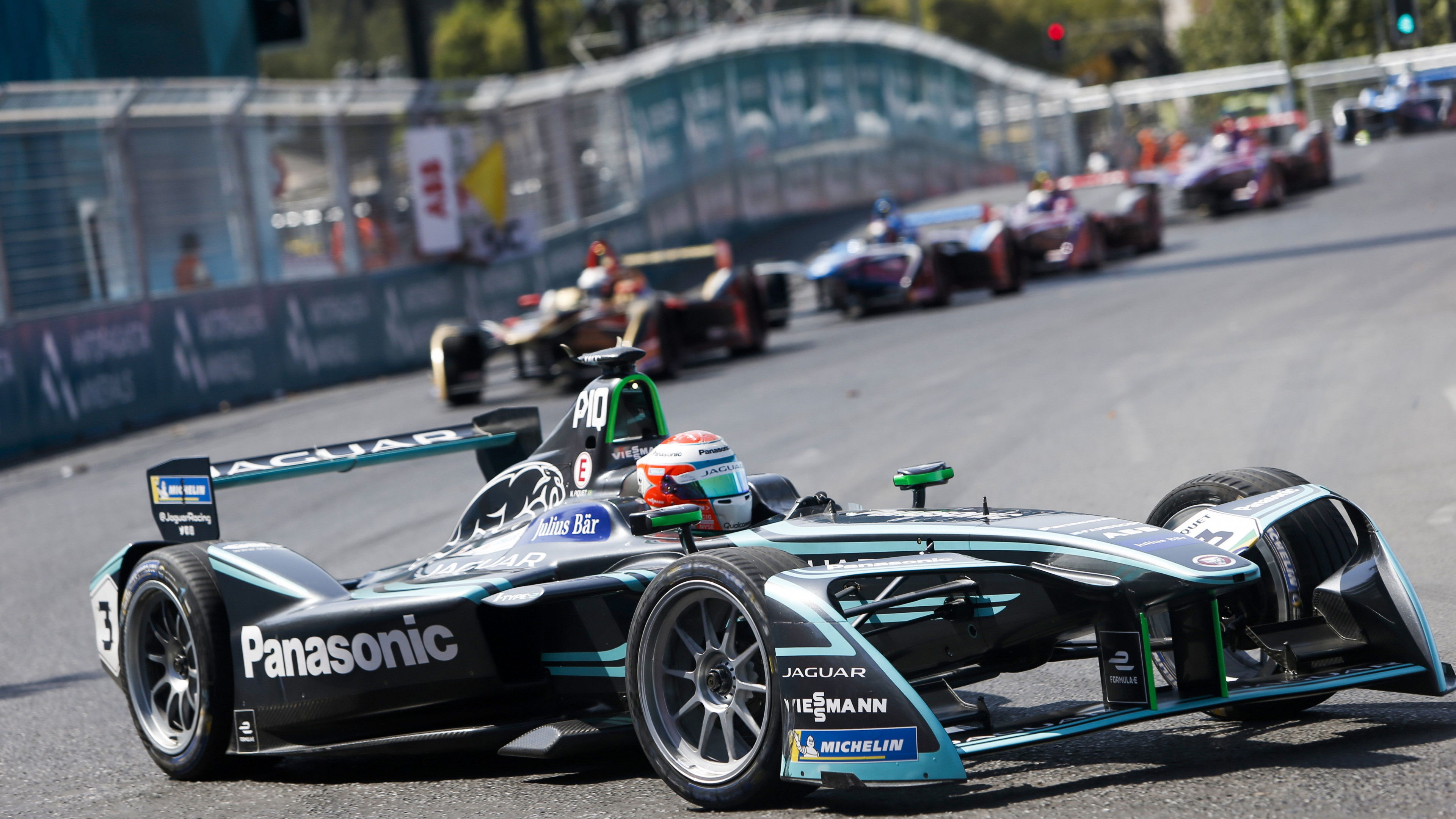 Panasonic Jaguar Racing | 3840x2160 wallpaper