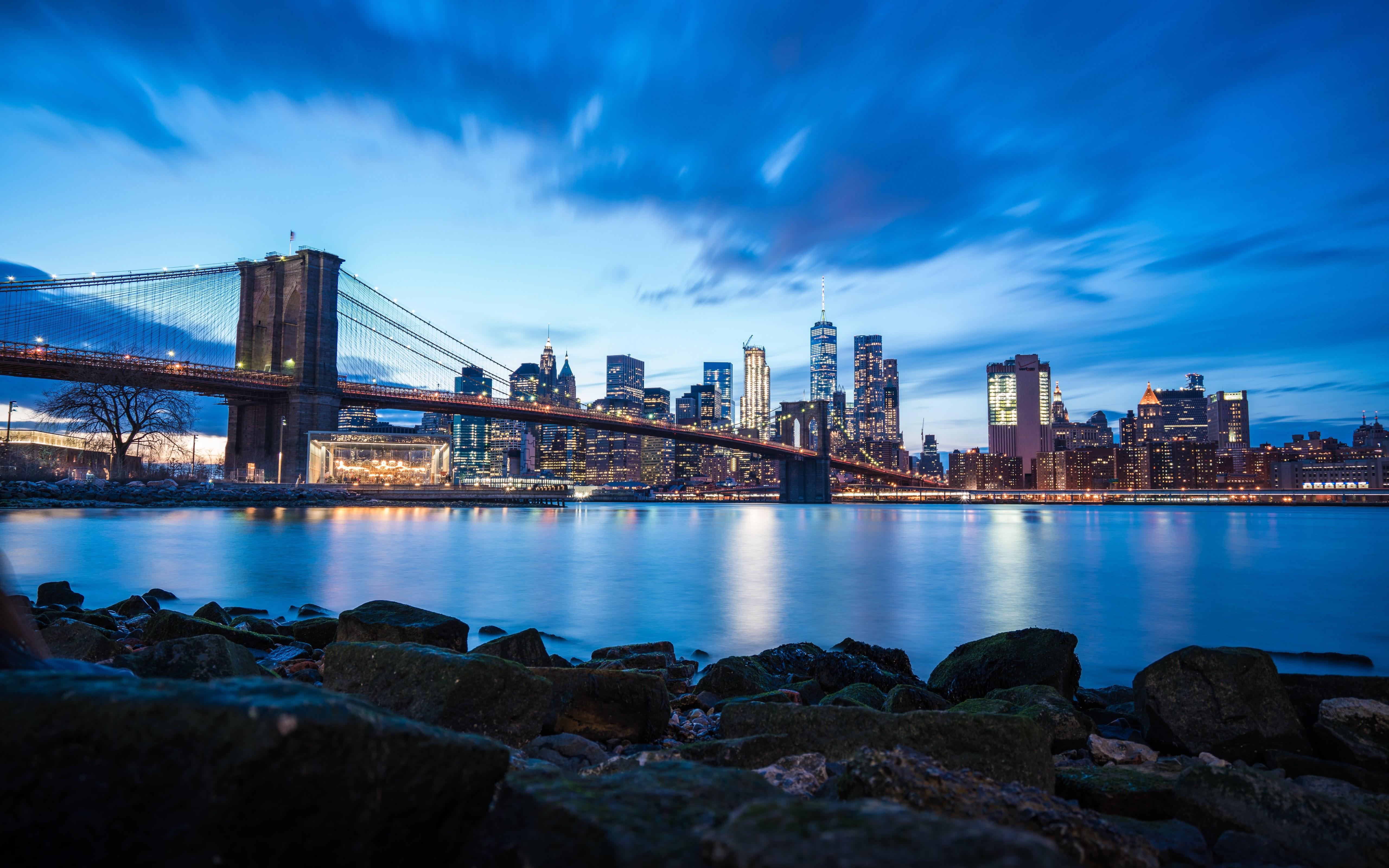 Download Wallpaper: Brooklyn Bridge 5120x3200