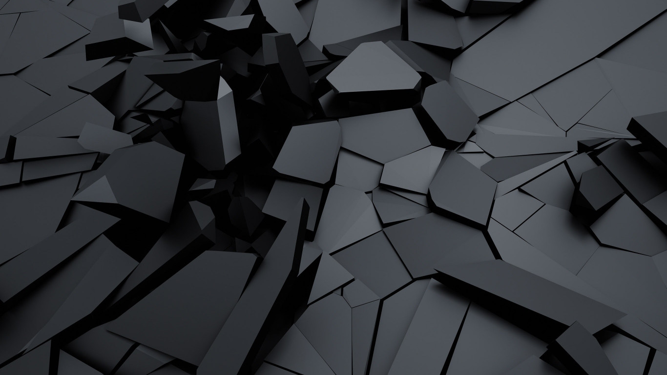 Cracked surface | 1366x768 wallpaper