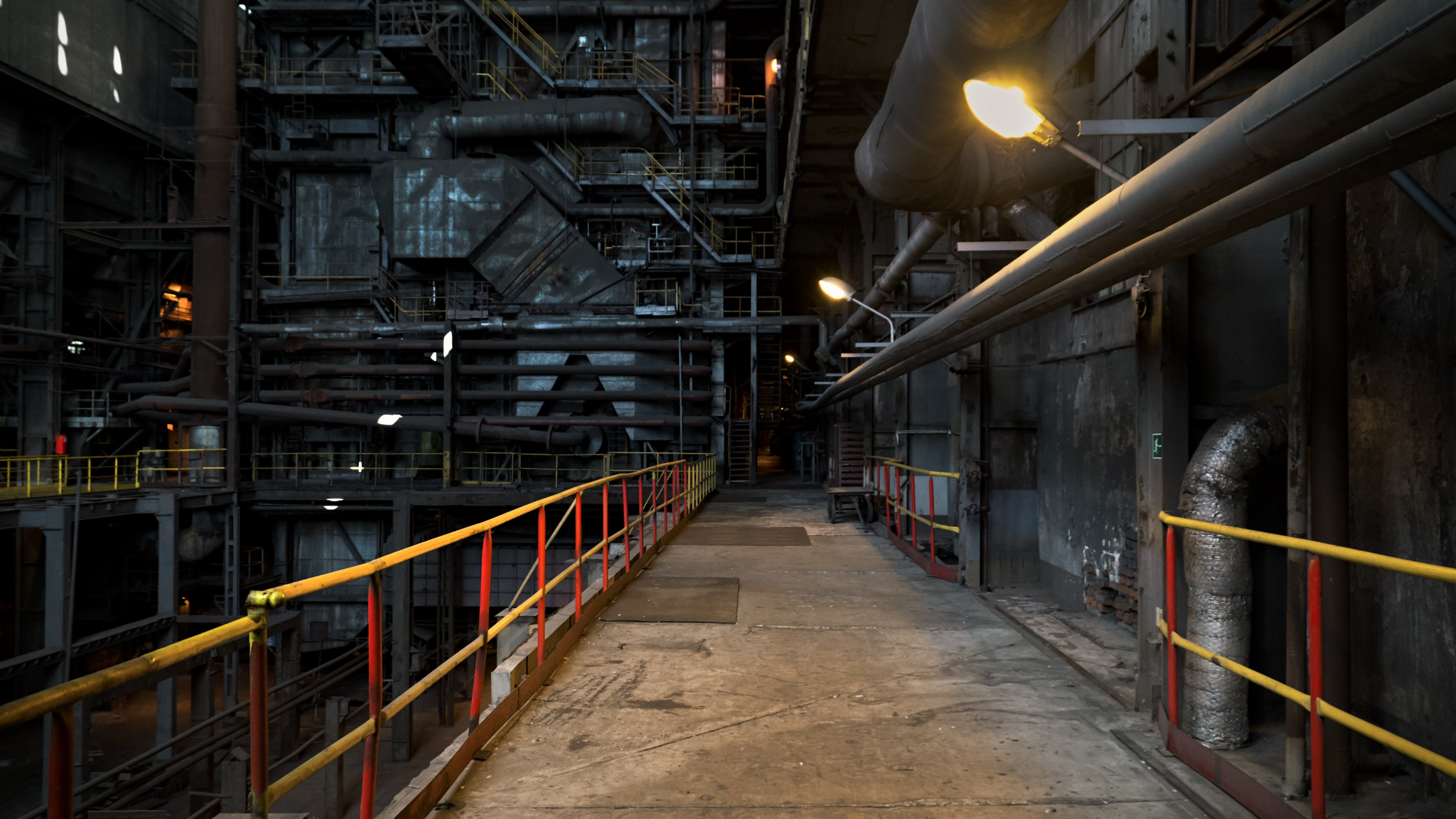 The inside of a power station wallpaper 2880x1620