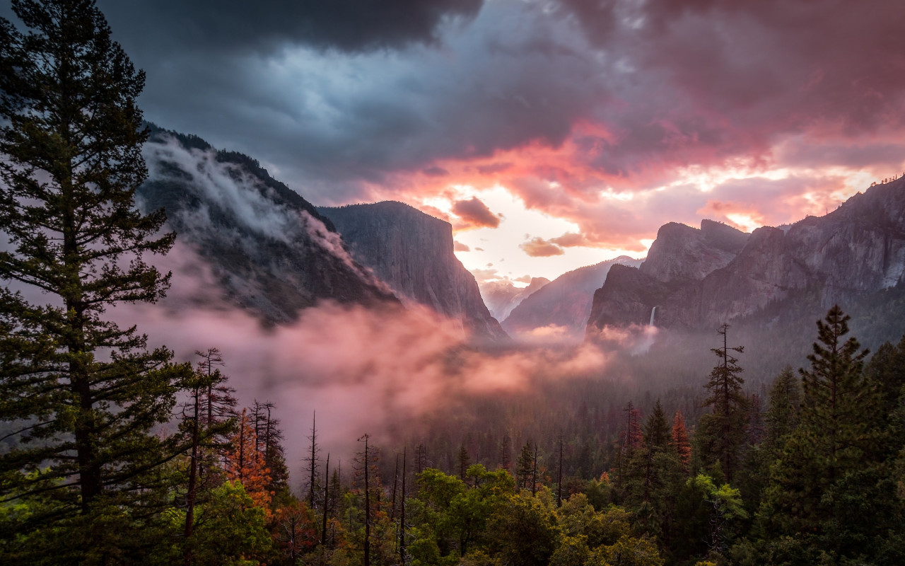 Landscape from Yosemite National Park | 1280x800 wallpaper