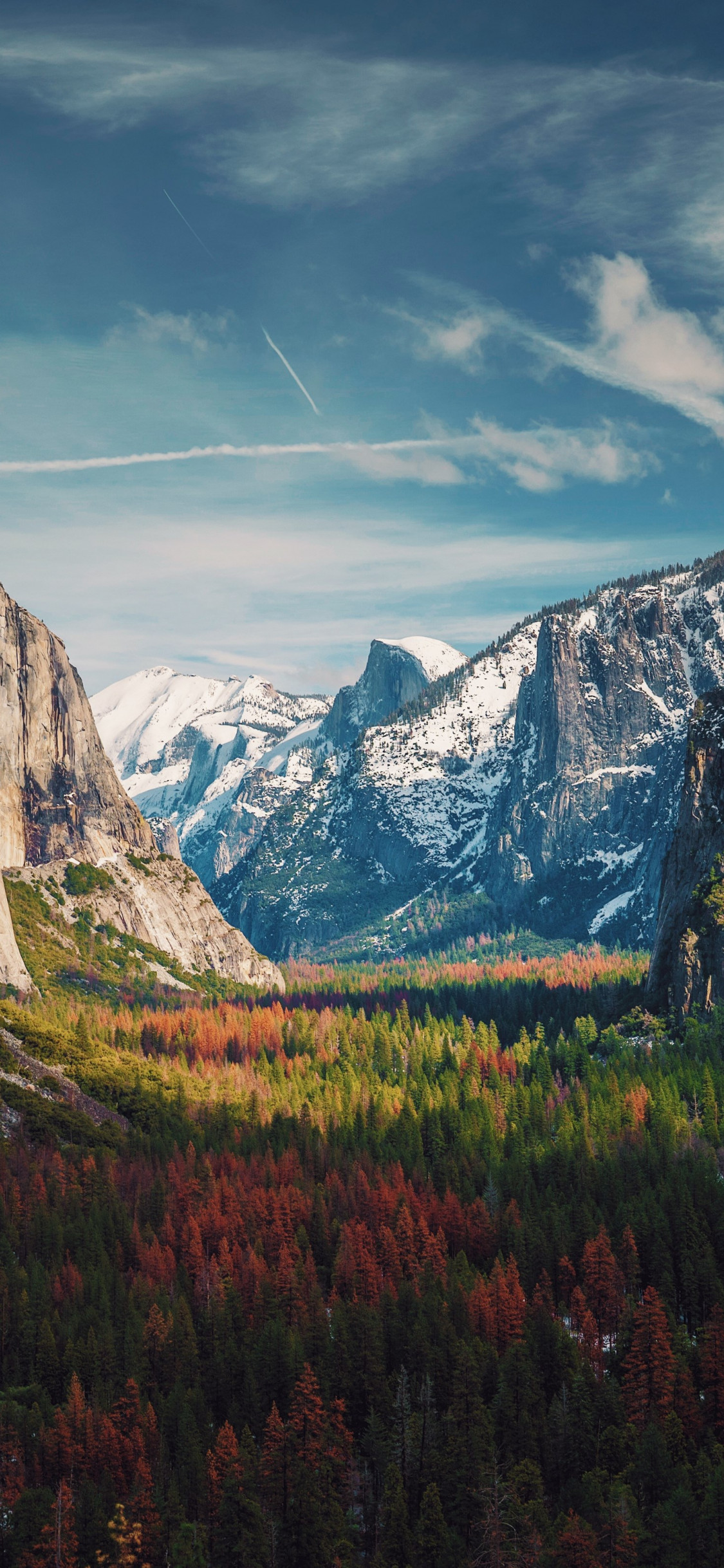 Best View from Yosemite wallpaper 1125x2436