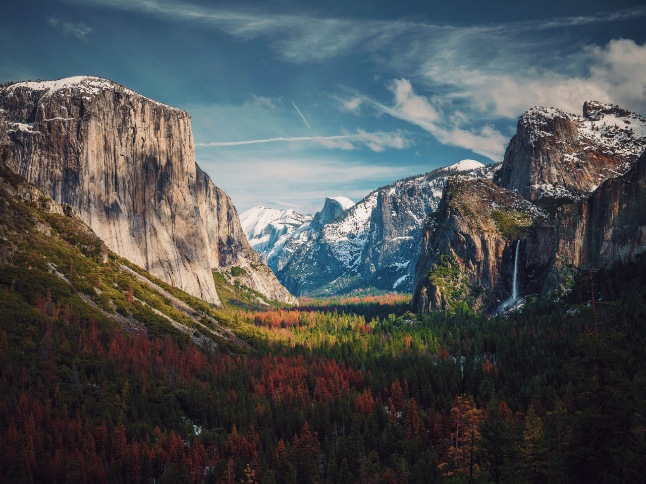 Best View from Yosemite | 1280x960 wallpaper