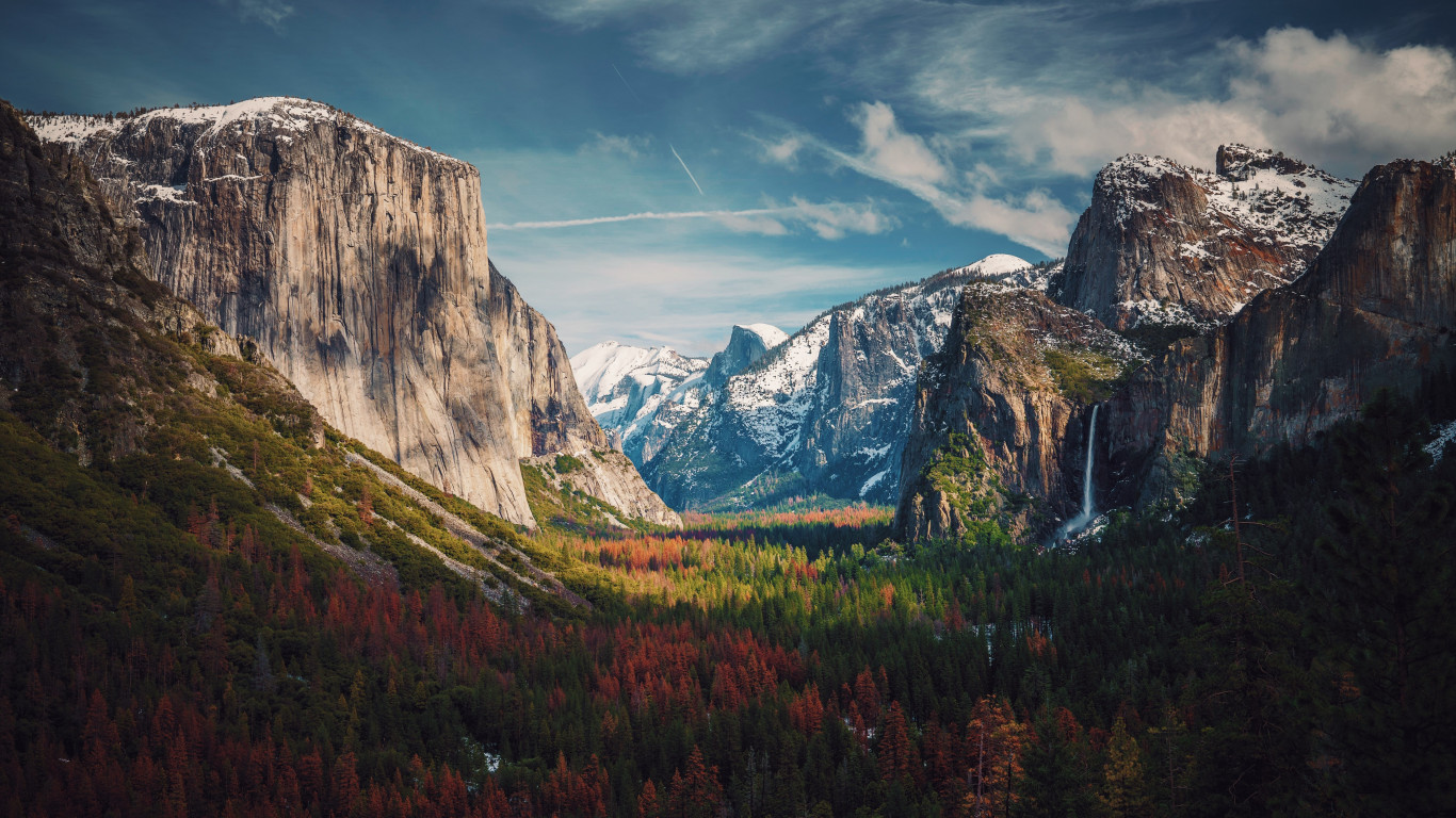 Best View from Yosemite | 1366x768 wallpaper