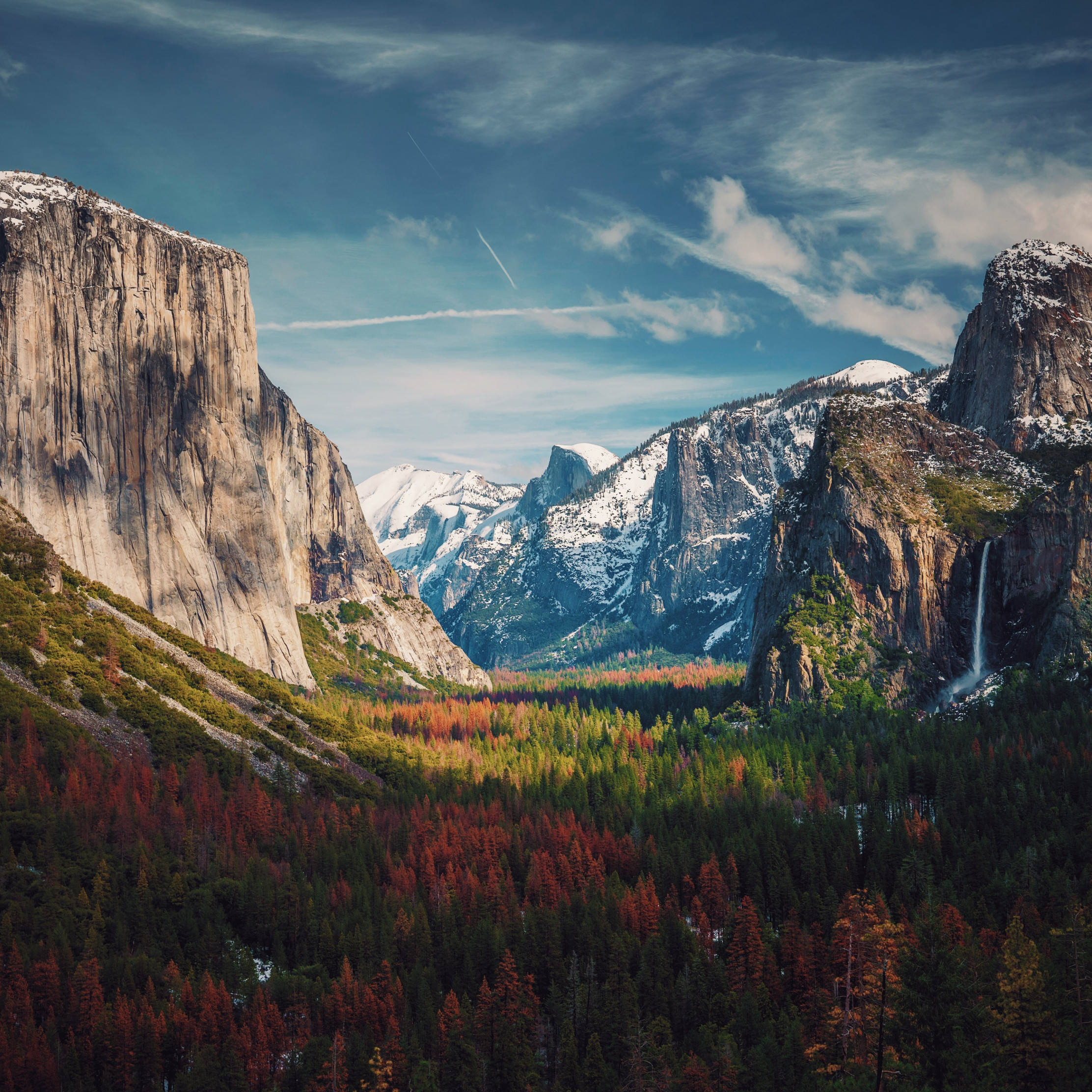Best View from Yosemite wallpaper 2224x2224