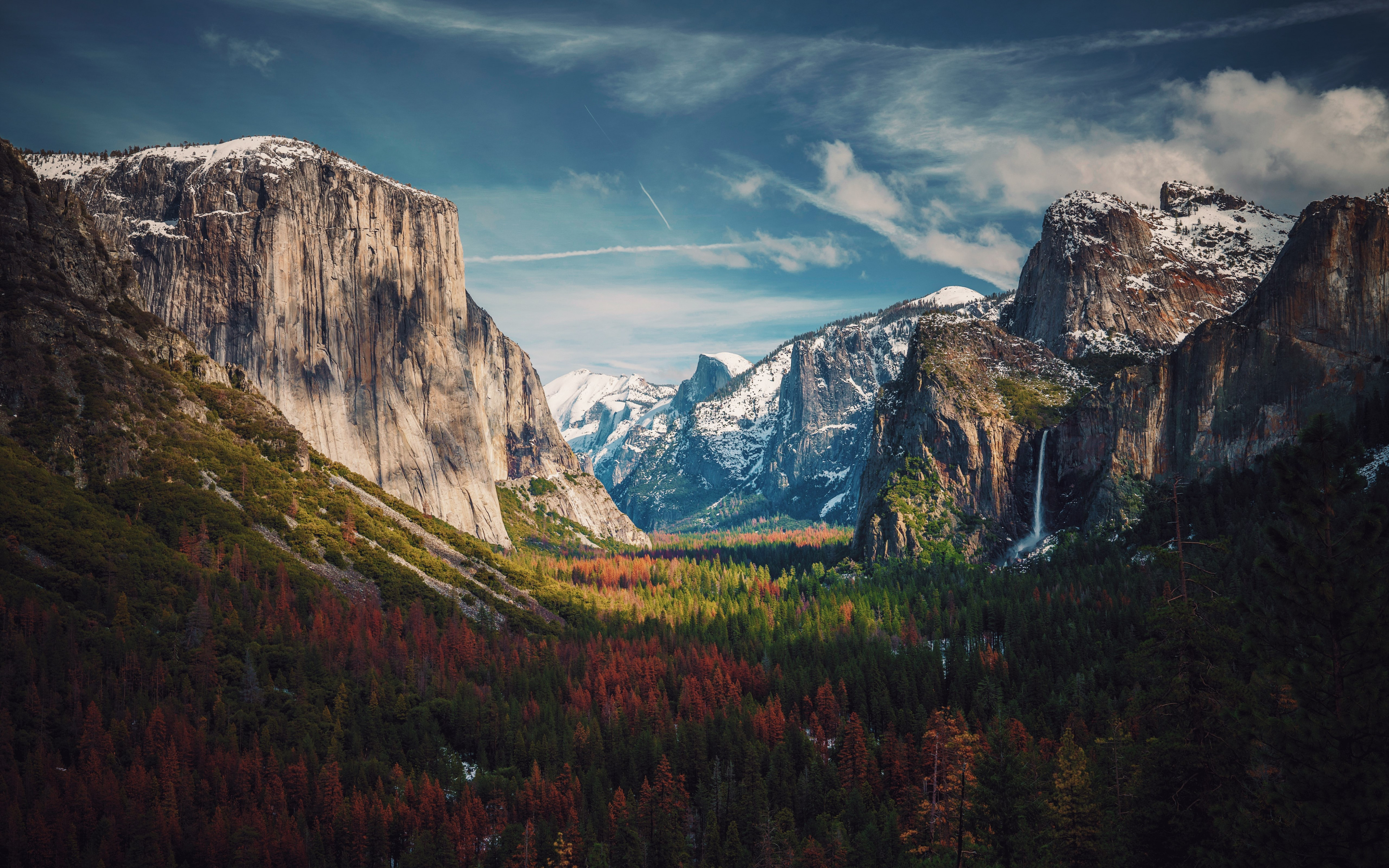 Best View from Yosemite wallpaper 3840x2400