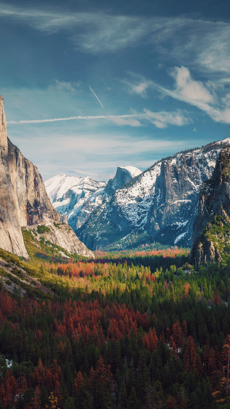 Best View from Yosemite wallpaper 750x1334
