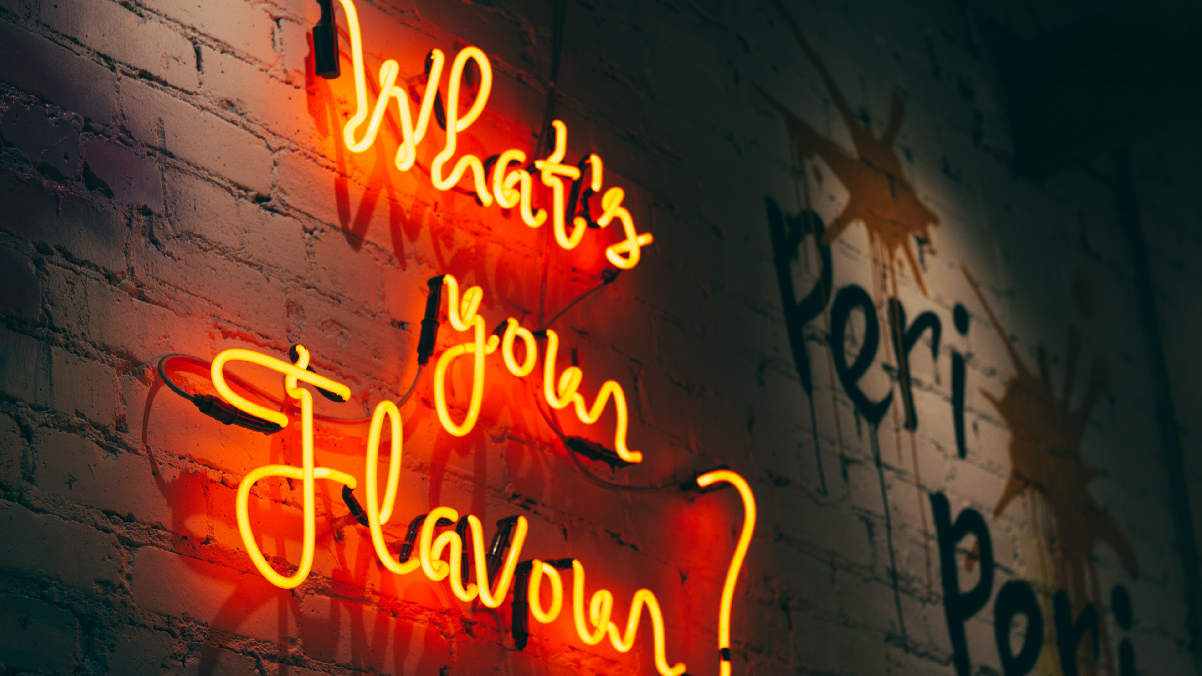 What is your flavour wallpaper 3840x2160