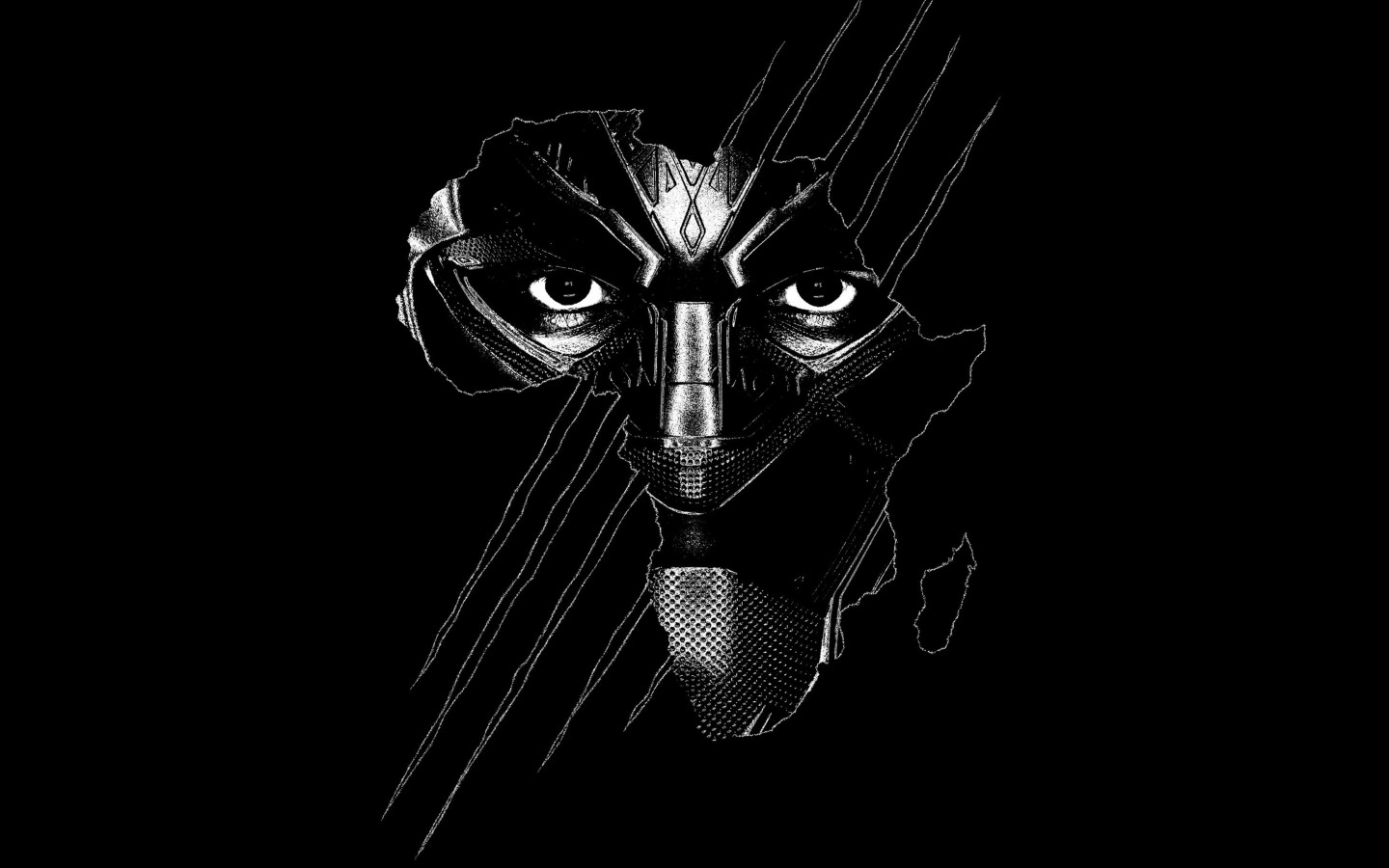Black Panther wallpaper 1440x900