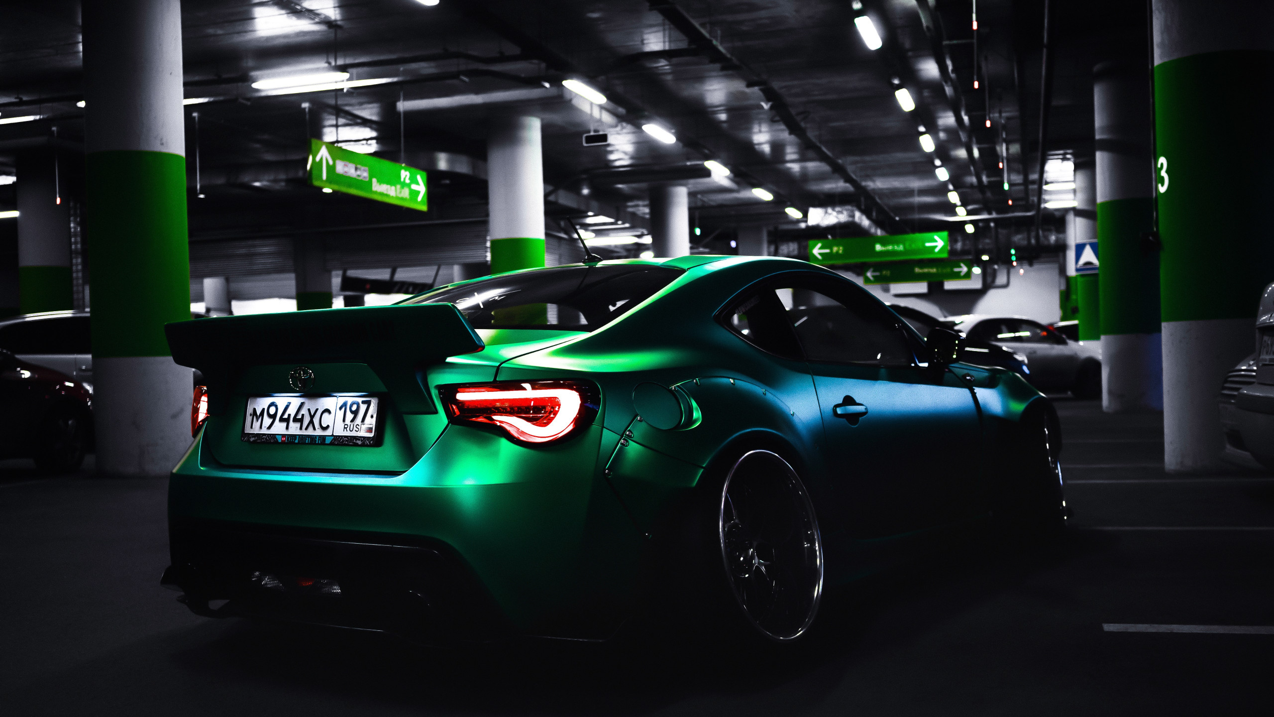 Toyota sports car wallpaper 2560x1440