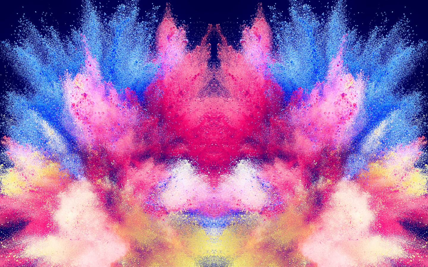 Abstract illustration: Powder colors wallpaper 1440x900