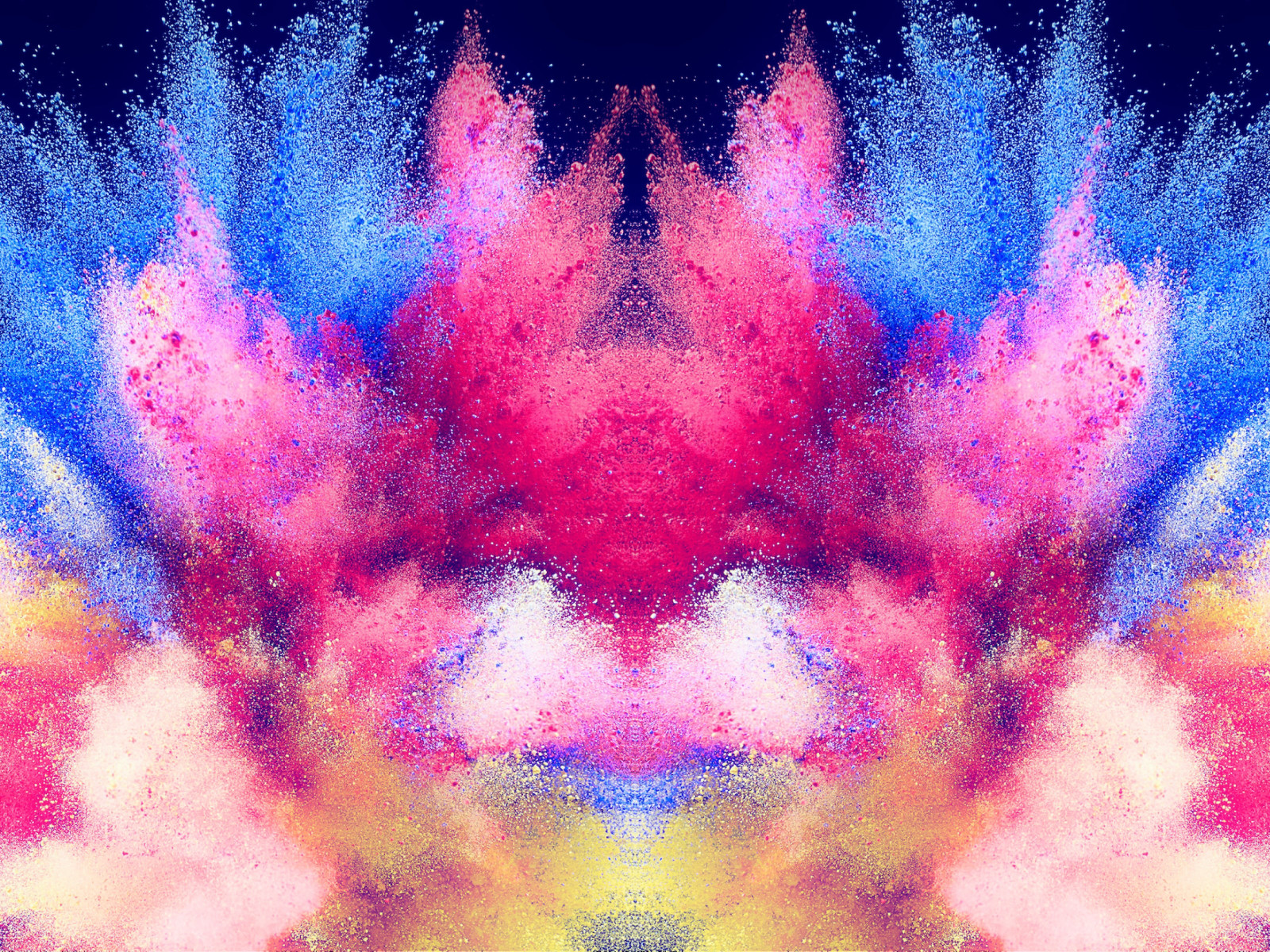 Abstract illustration: Powder colors wallpaper 1600x1200