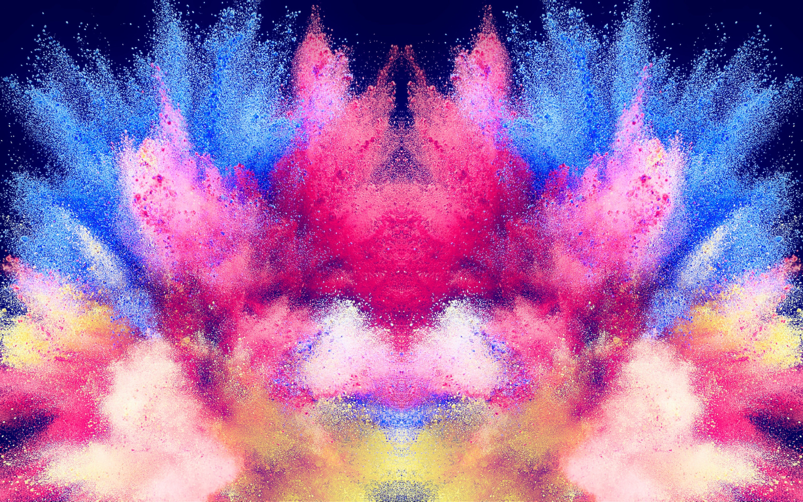 Abstract illustration: Powder colors wallpaper 2560x1600