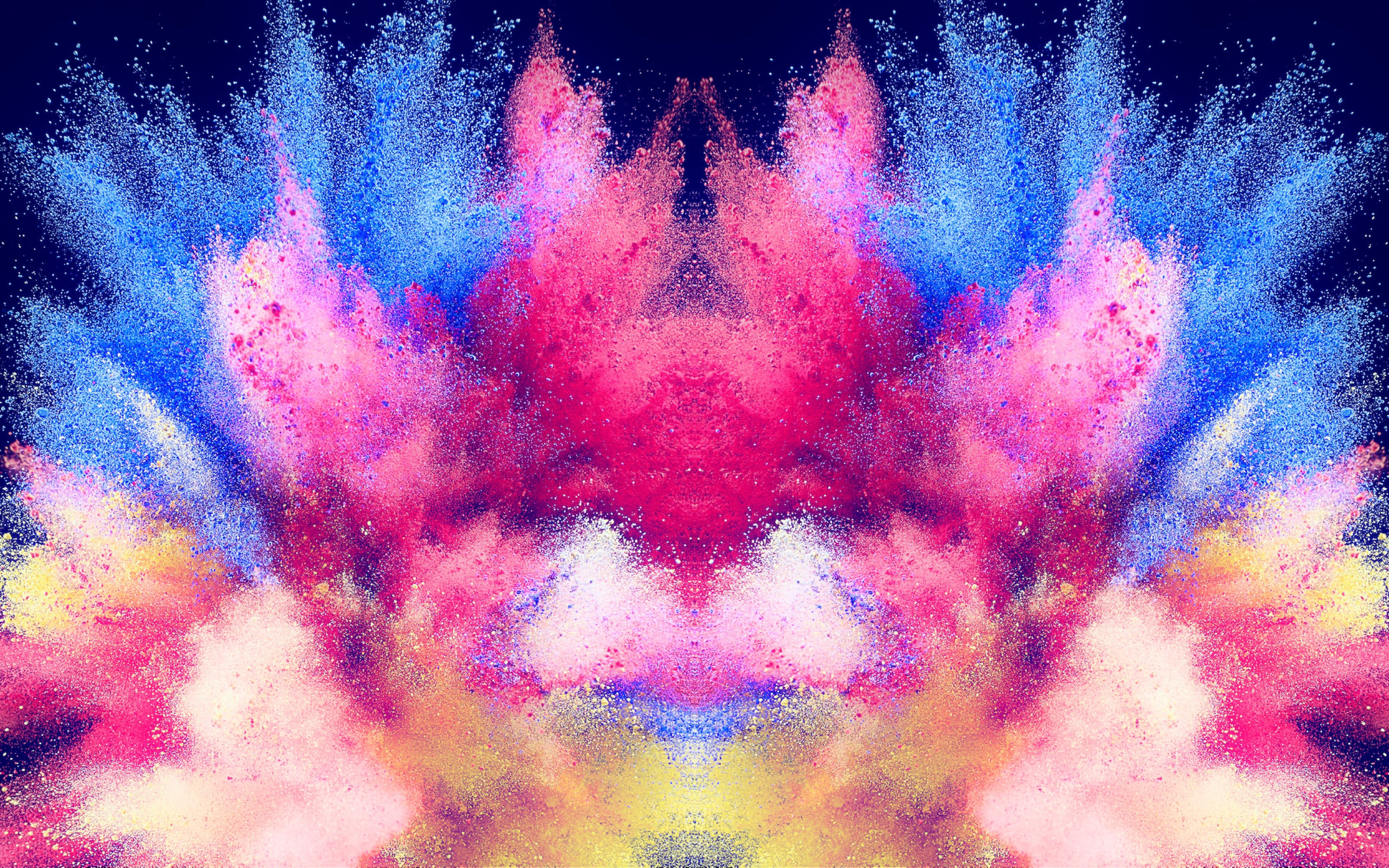 Abstract illustration: Powder colors wallpaper 3840x2400