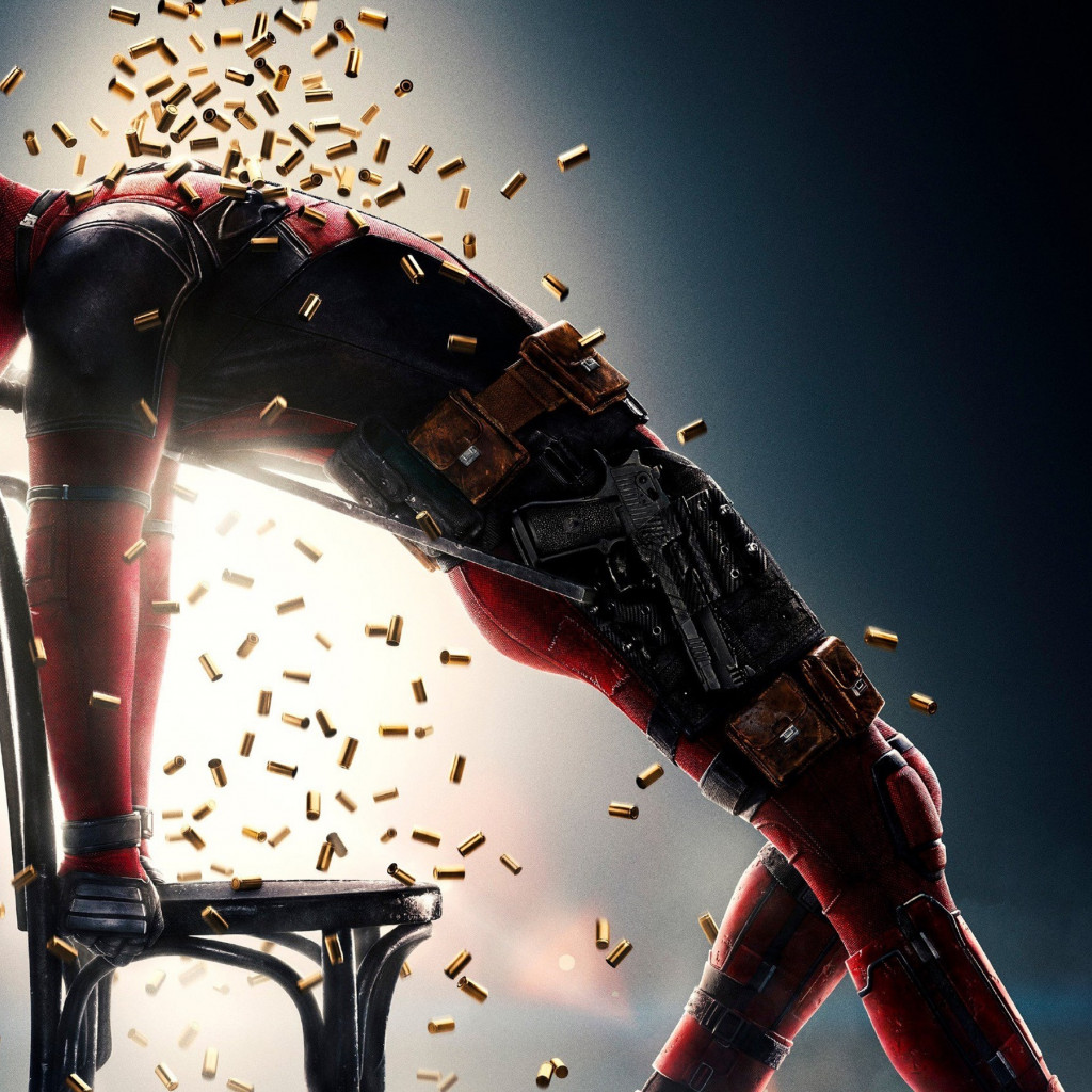 Deadpool 2 wallpaper 1024x1024