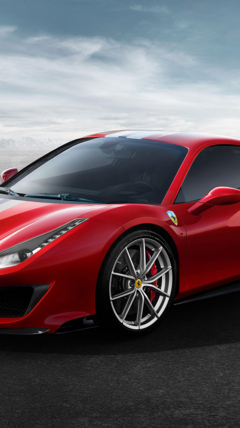 Ferrari 488 Pista wallpaper 480x854