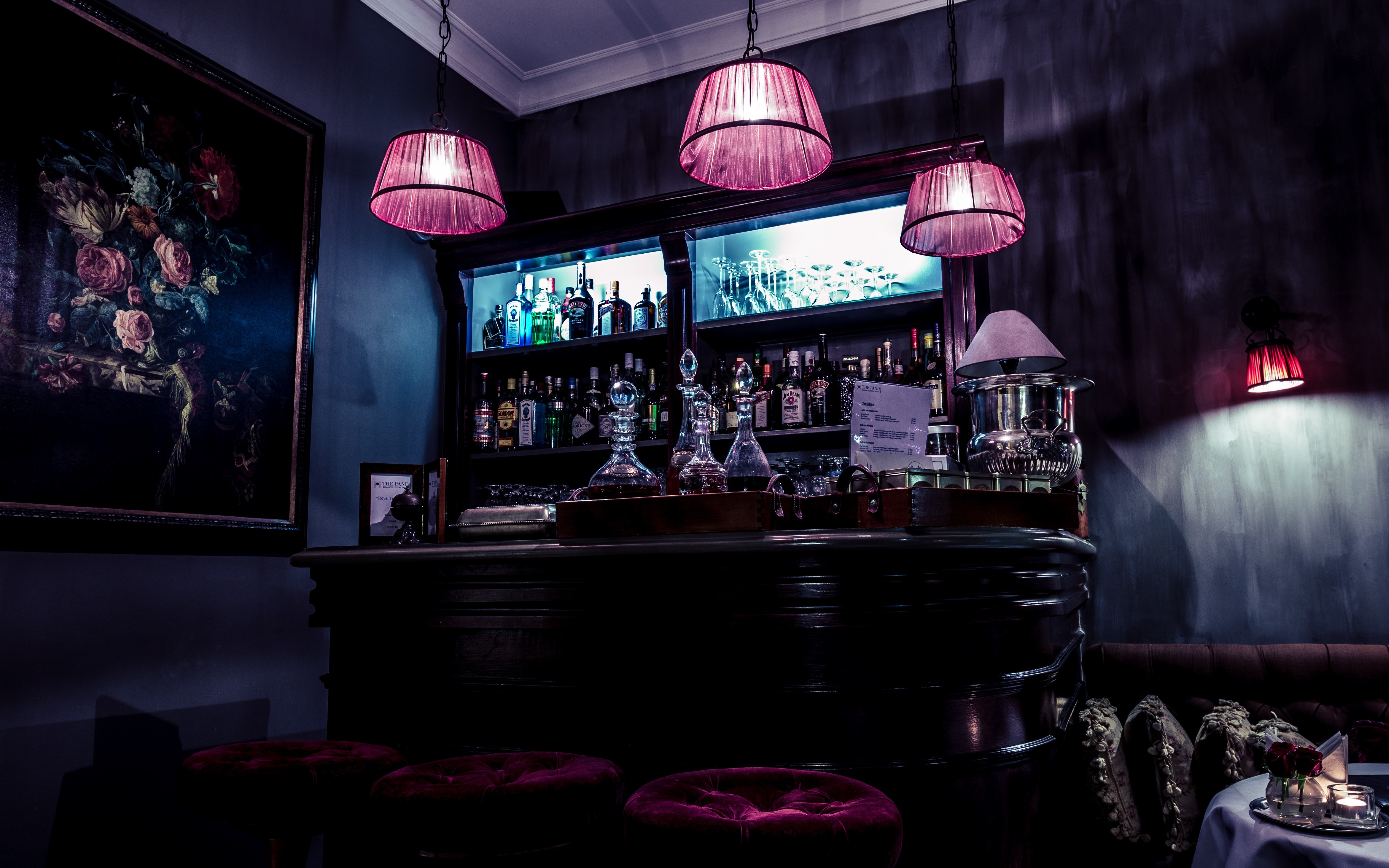 Interior bar design | 5120x3200 wallpaper