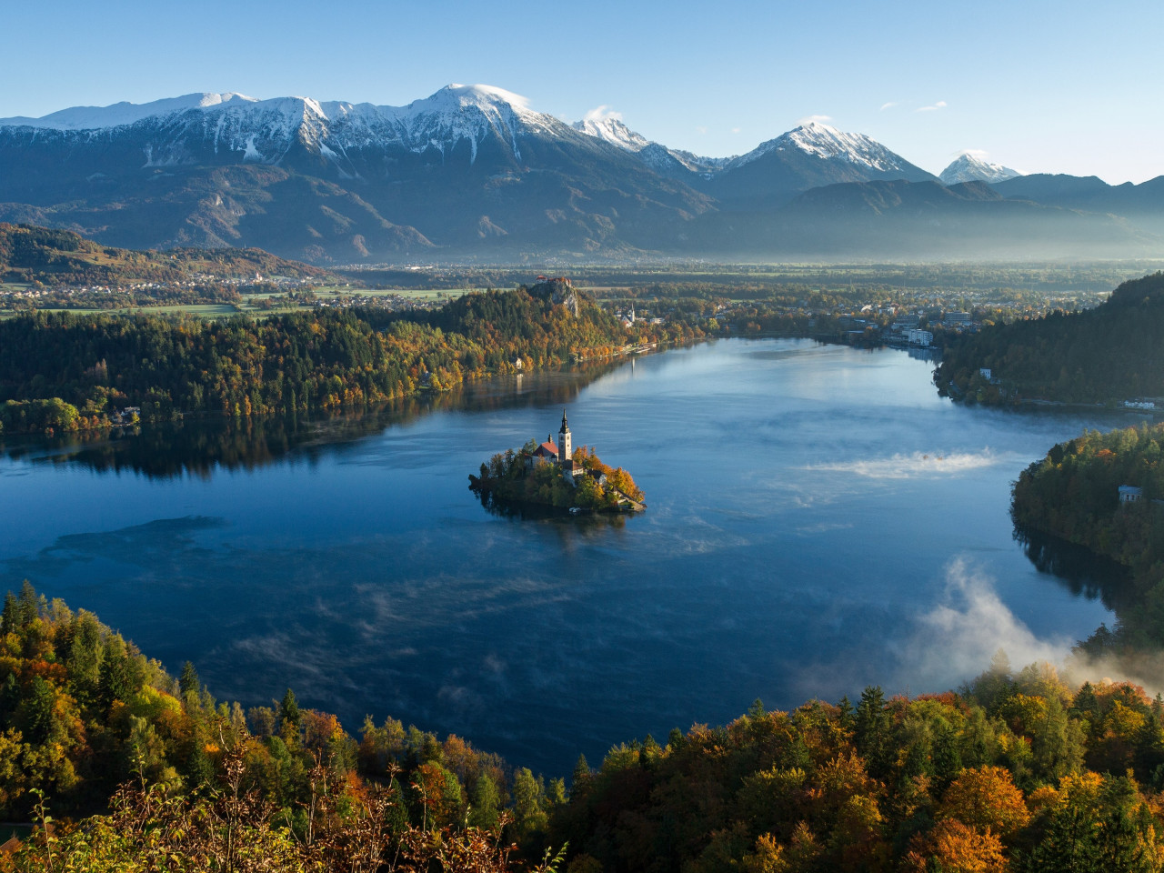 Best landscape from Bled, Slovenia | 1280x960 wallpaper
