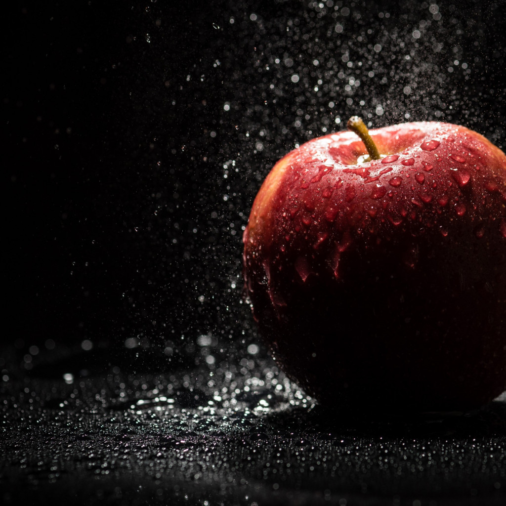 The apple, natural red apple wallpaper 1024x1024