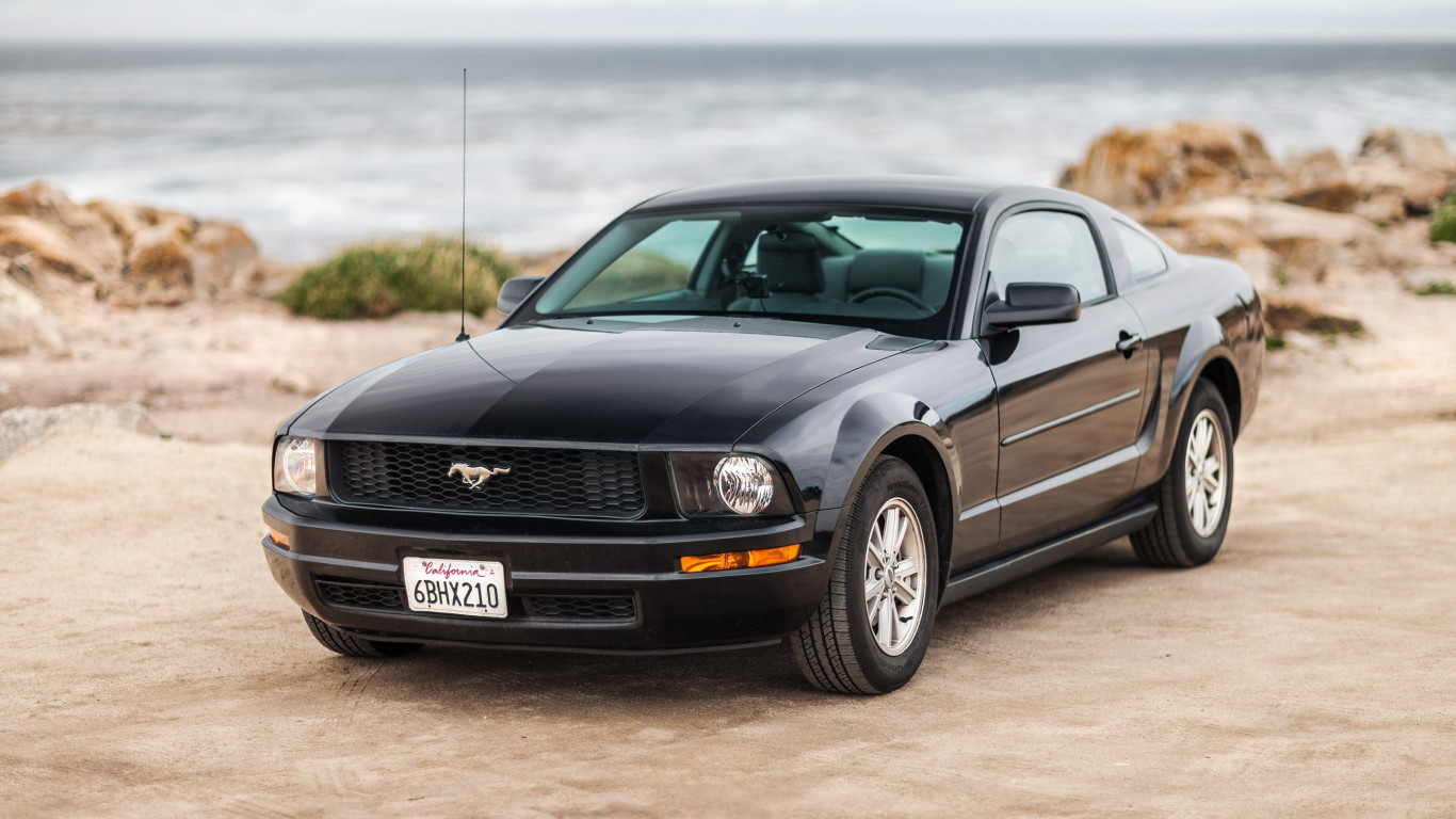 Ford Mustang wallpaper 1366x768
