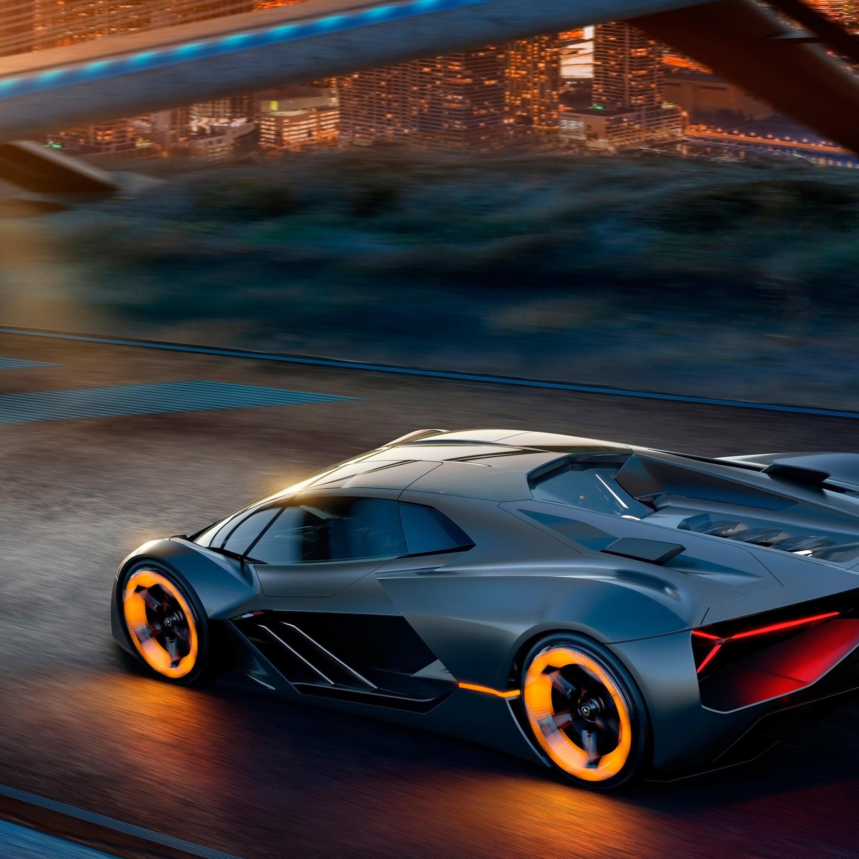 Download Wallpaper Lamborghini Terzo Millennio Electric Car 2224x2224
