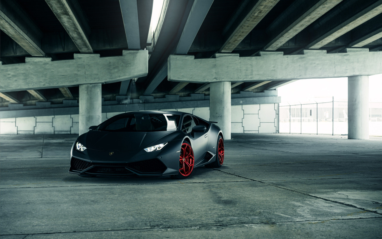 Hot Lamborghini Huracan wallpaper 1280x800