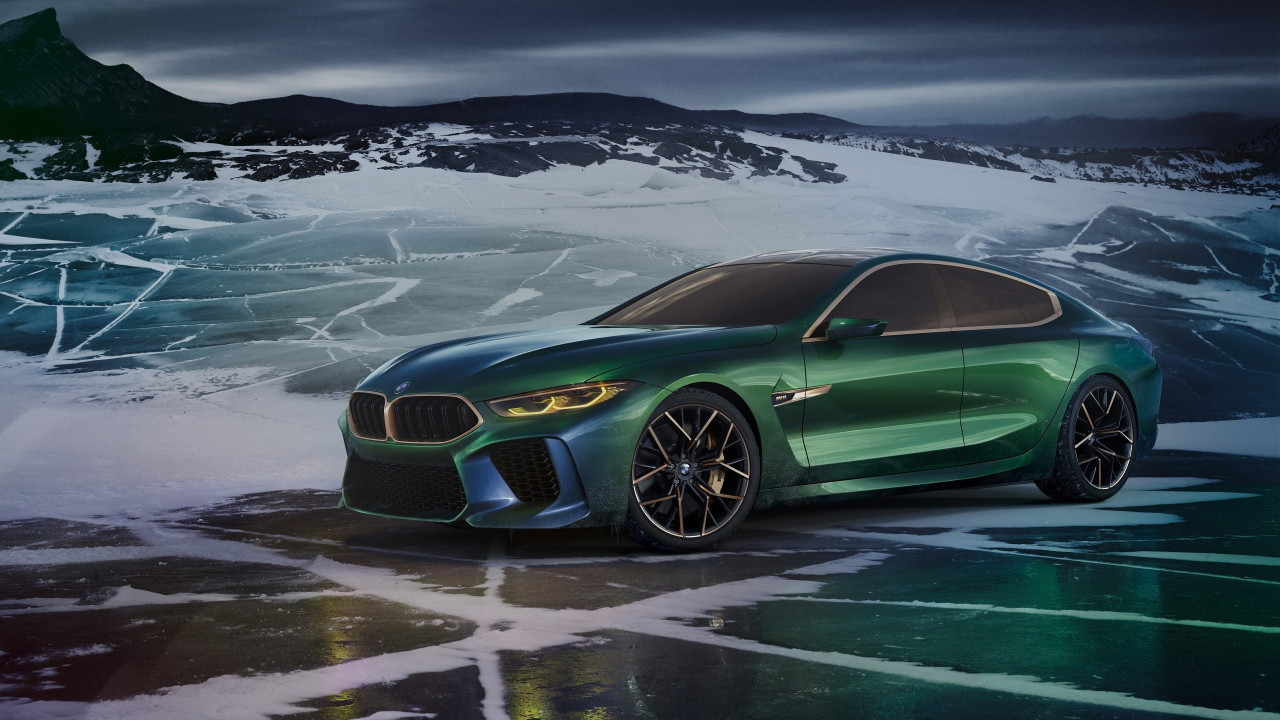 BMW Concept M8 Gran Coupe 2018 wallpaper 1280x720