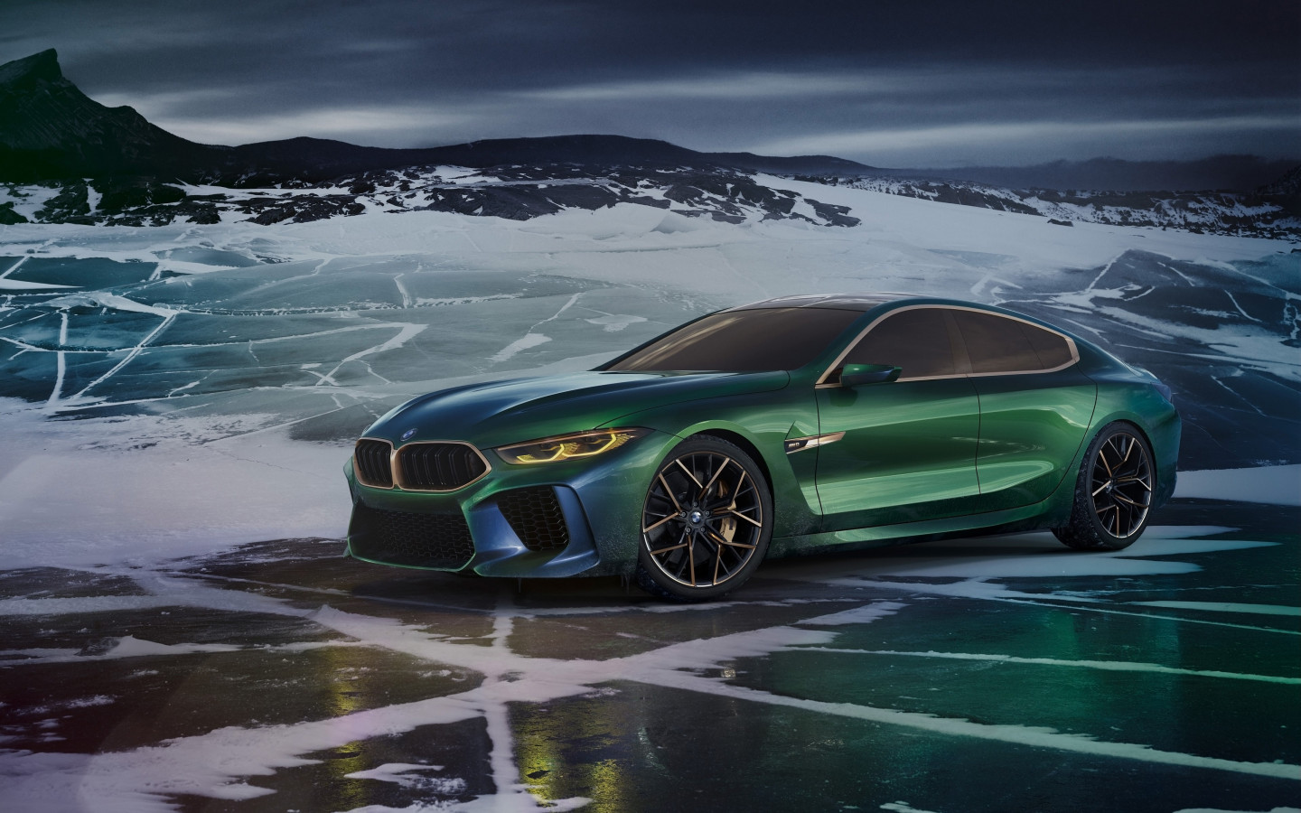 BMW Concept M8 Gran Coupe 2018 wallpaper 1440x900