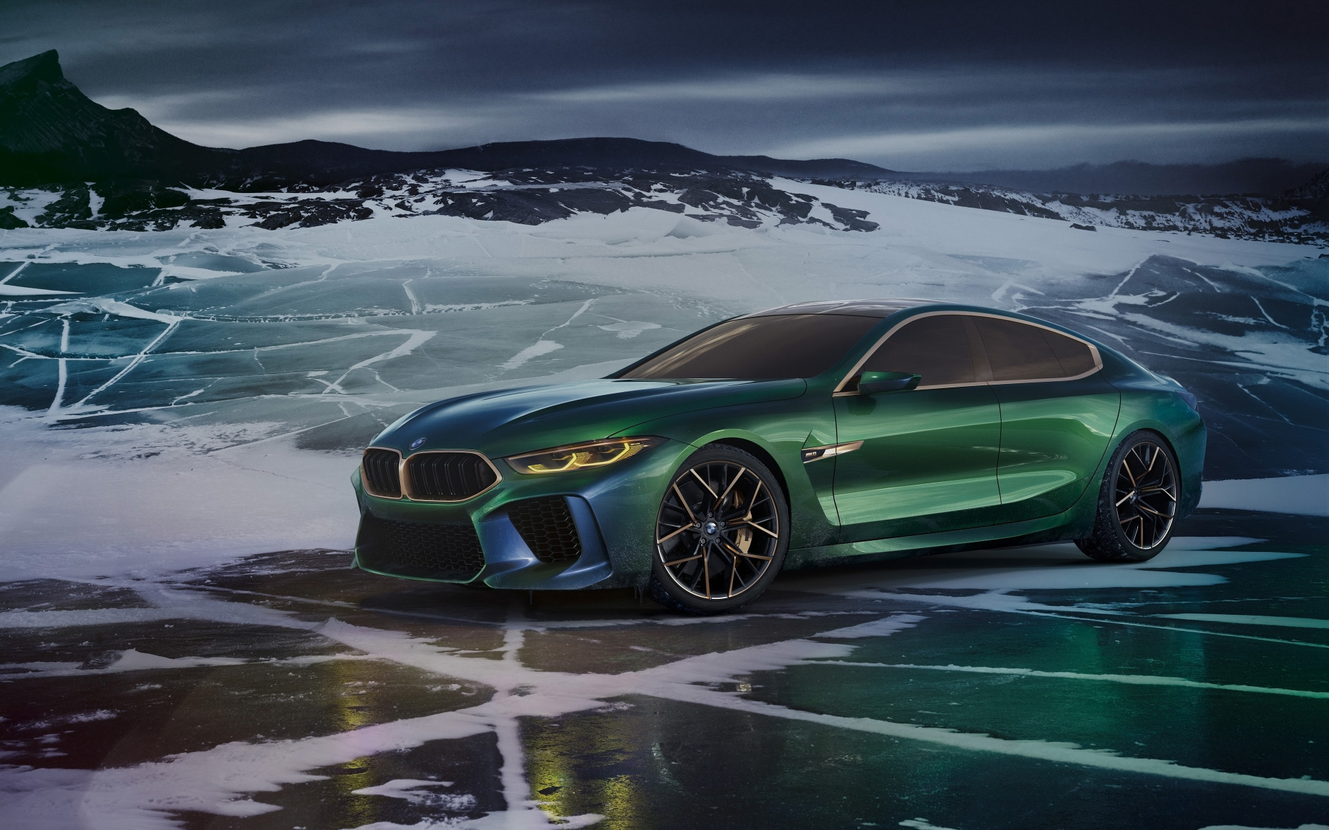 BMW Concept M8 Gran Coupe 2018 | 1920x1200 wallpaper