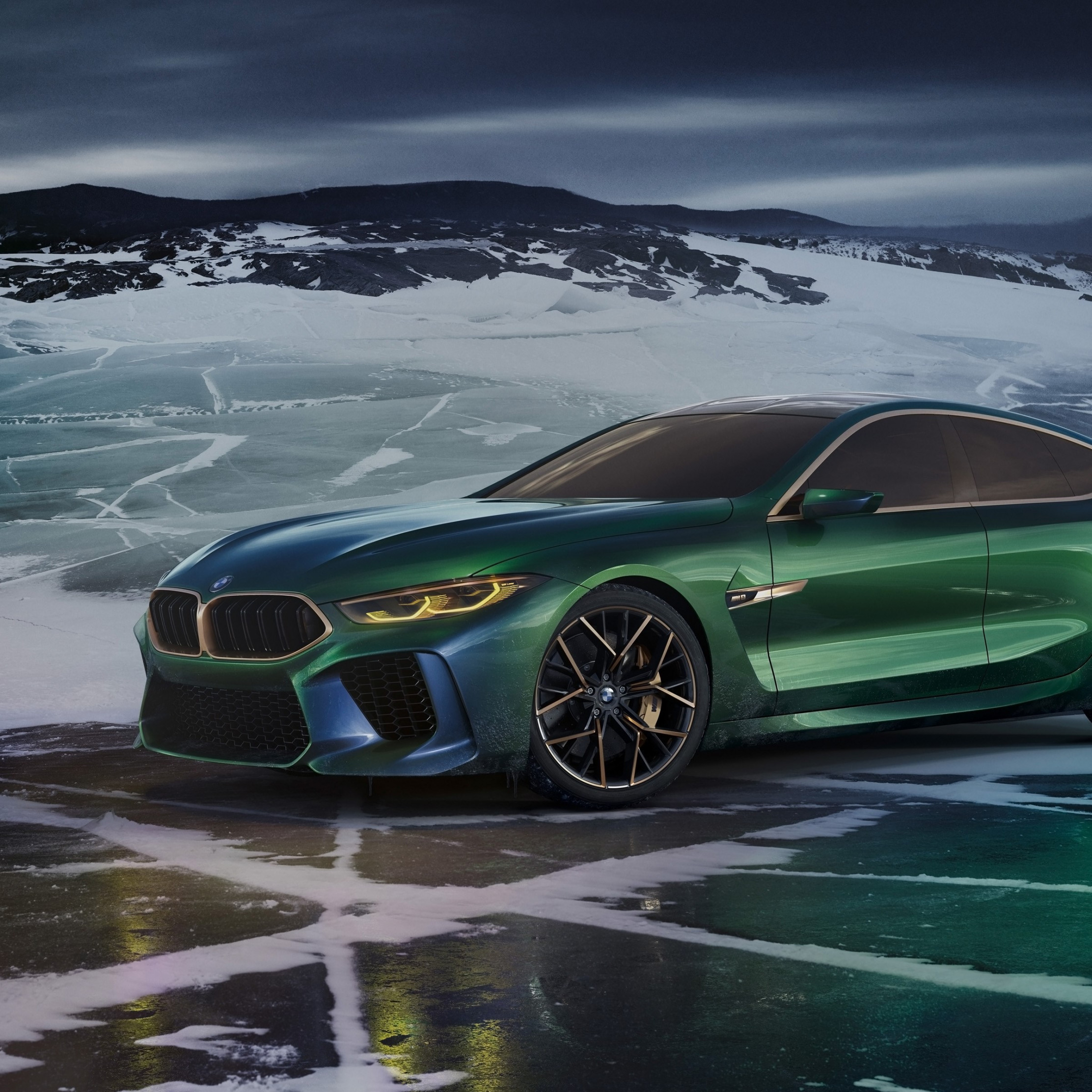 BMW Concept M8 Gran Coupe 2018 wallpaper 2224x2224