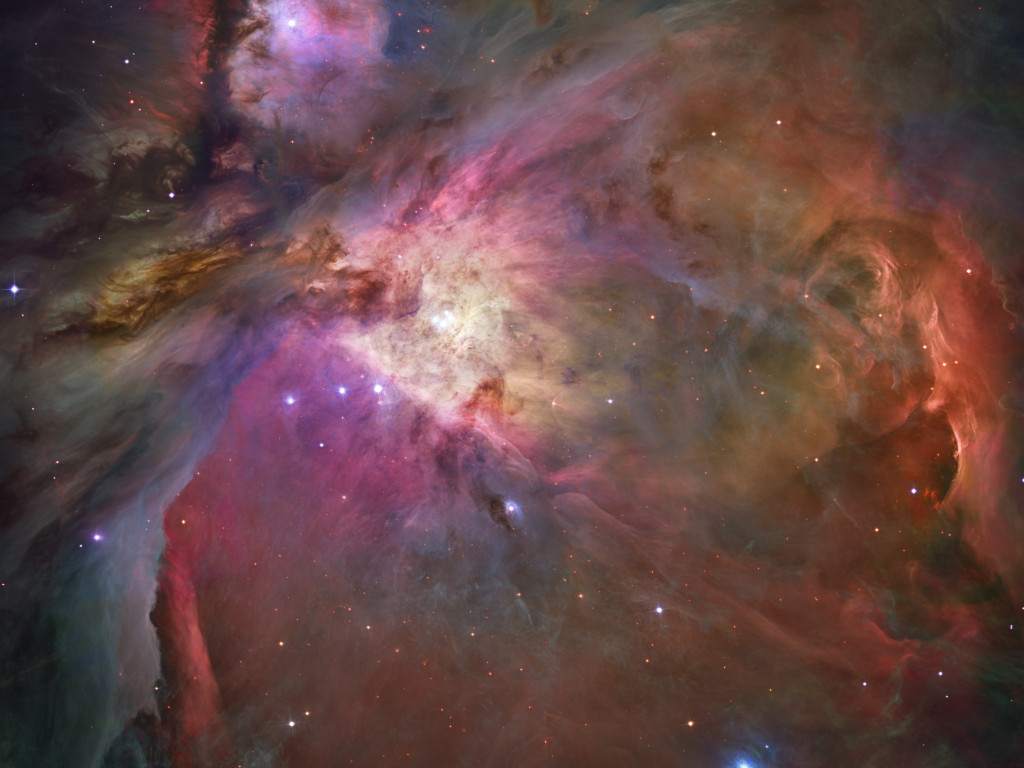 Orion Nebula wallpaper 1024x768