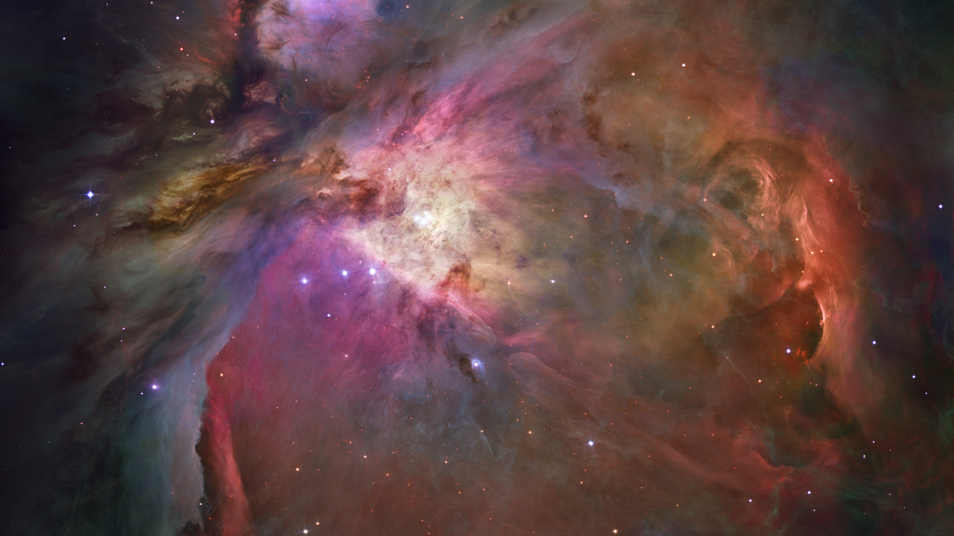 Orion Nebula wallpaper 1920x1080
