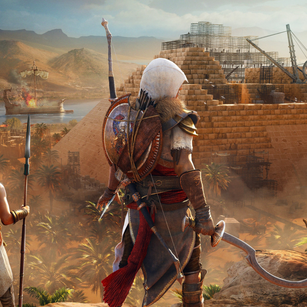 Assassin's Creed Origins: The Hidden Ones wallpaper 1024x1024