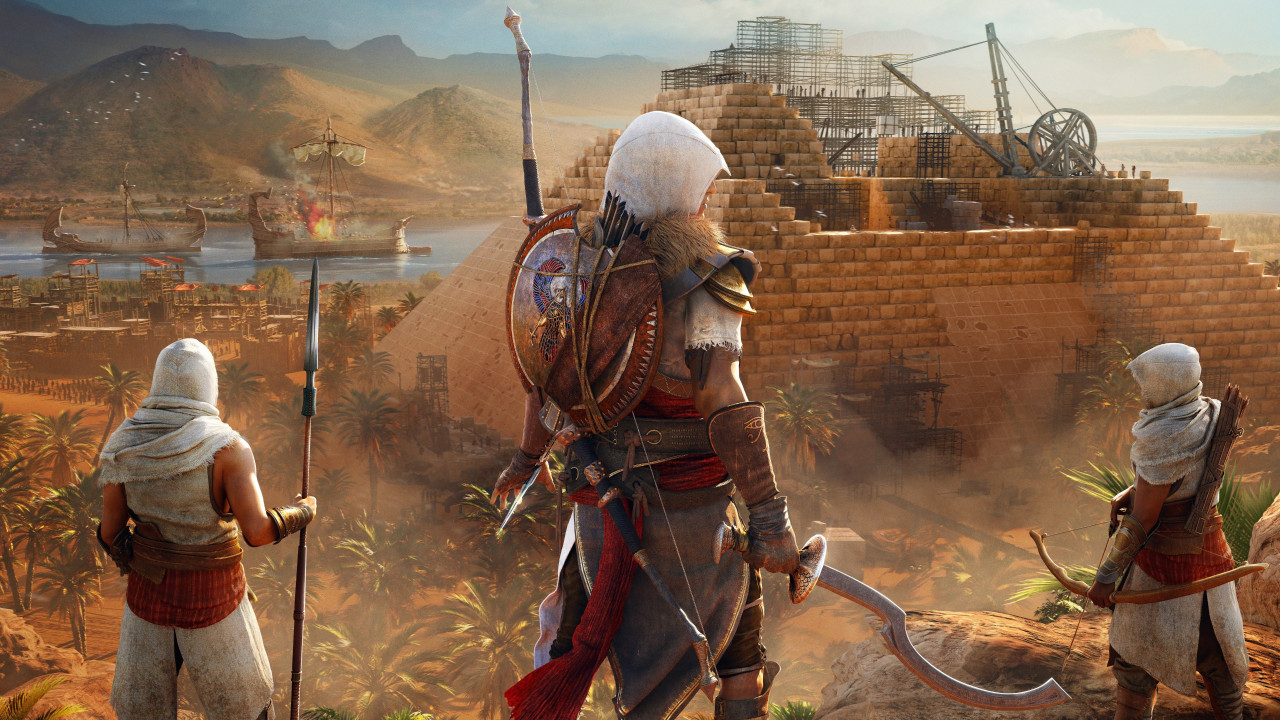 Assassin's Creed Origins: The Hidden Ones wallpaper 1280x720