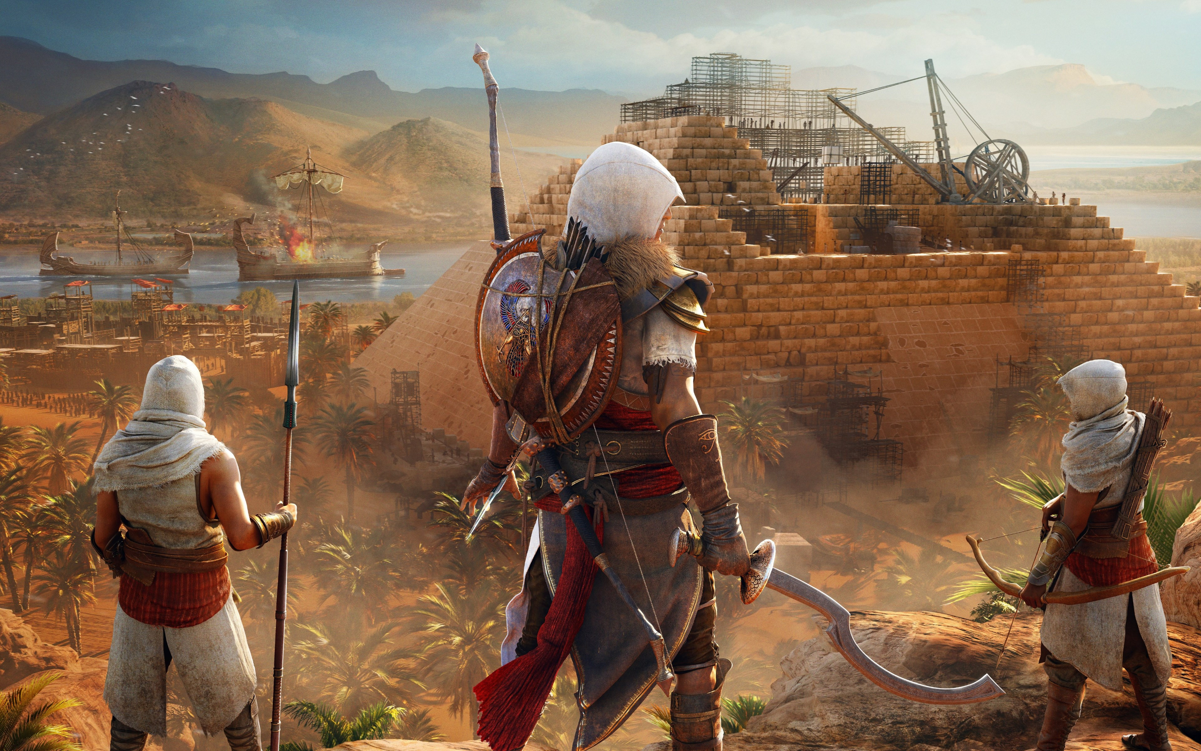 Download Wallpaper Assassin S Creed Origins The Hidden Ones