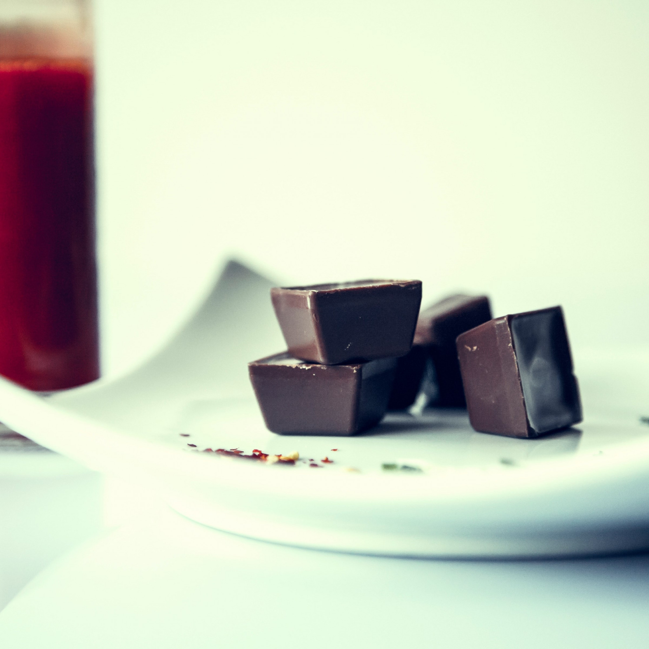 Chocolate and fresh drink wallpaper 2224x2224