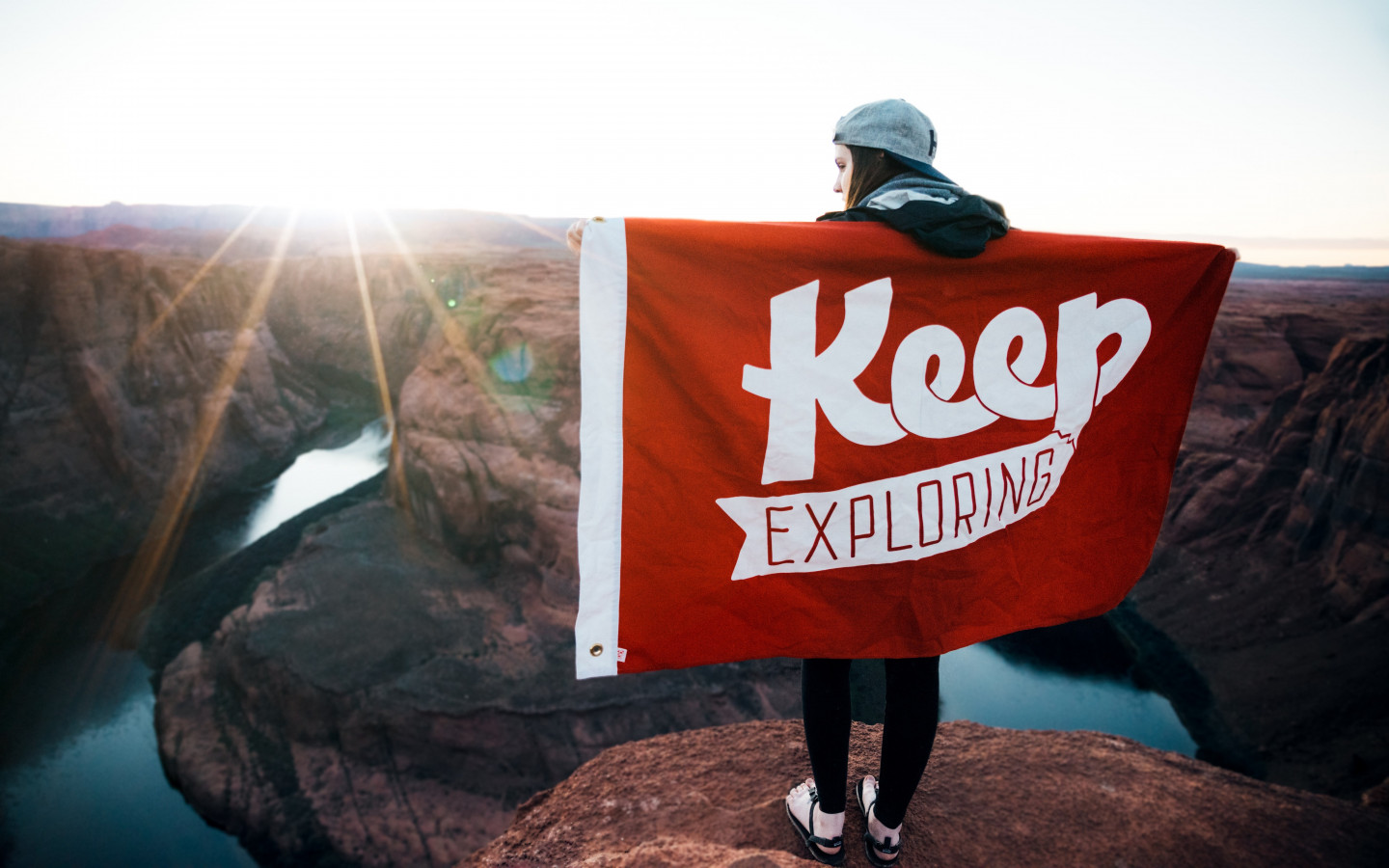 Keep Exploring wallpaper 1440x900