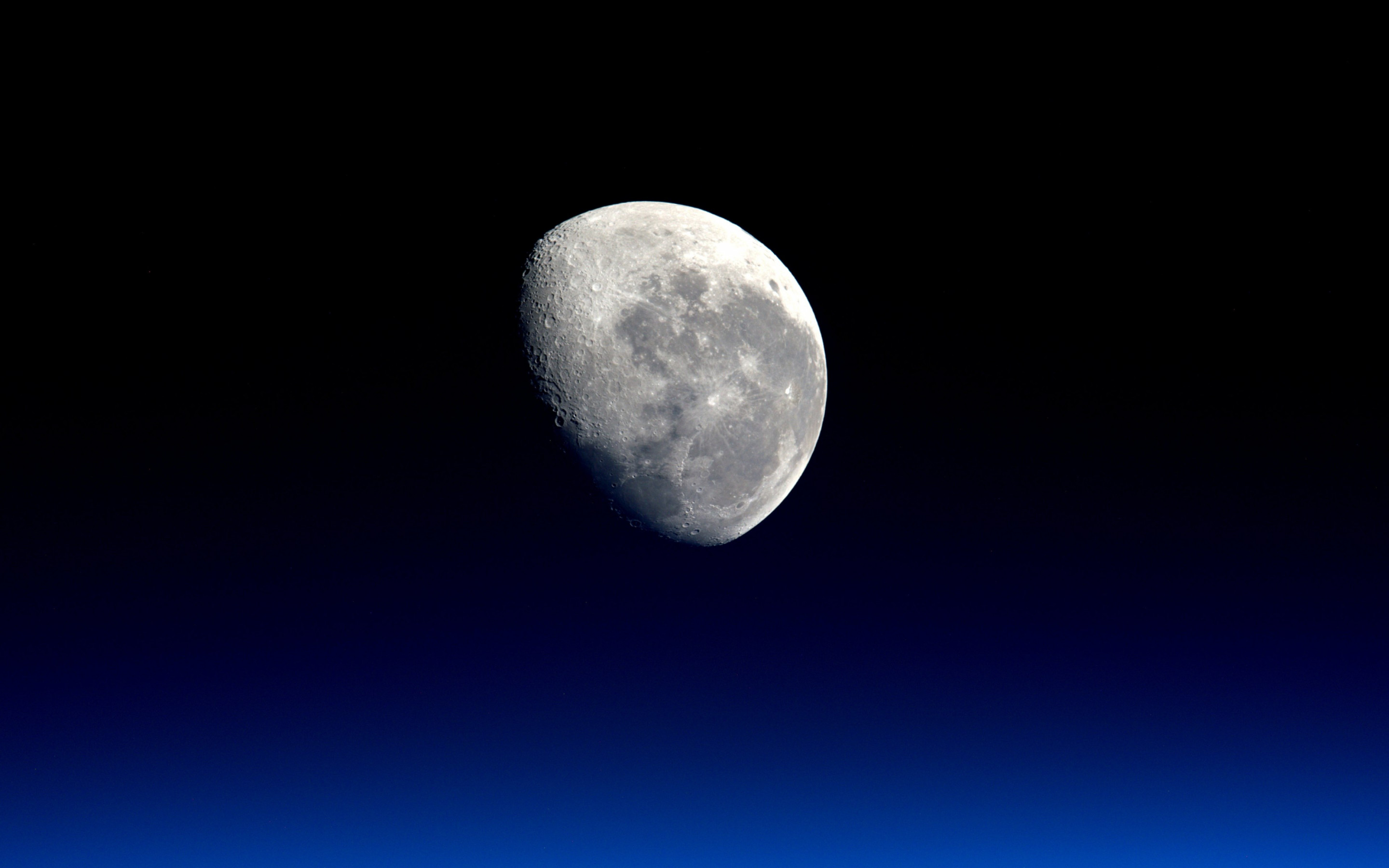 Our natural satellite: The Moon wallpaper 2880x1800
