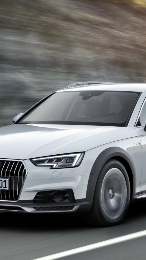 Audi A4 allroad quattro wallpaper 480x854