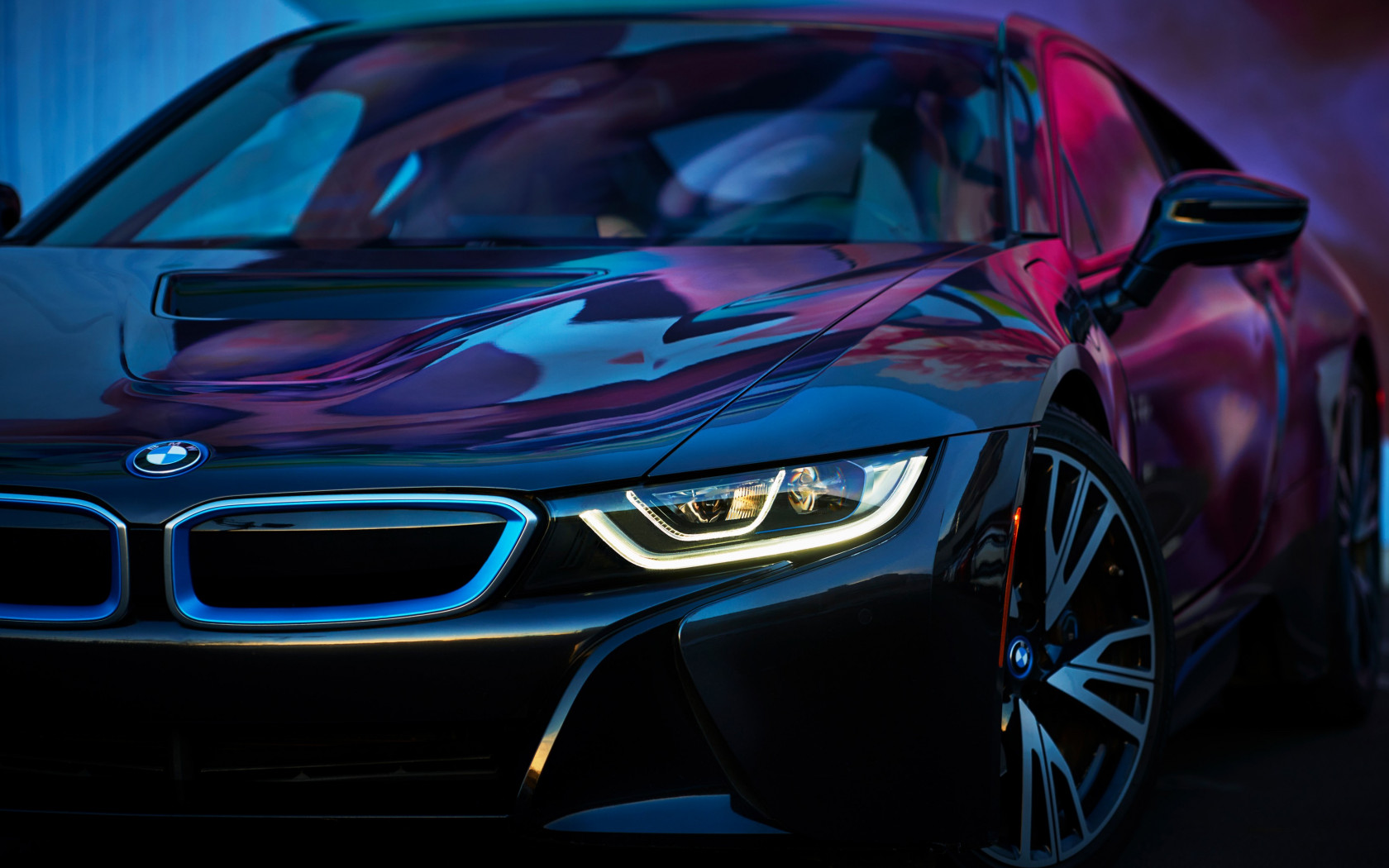 BMW i8 wallpaper 1680x1050